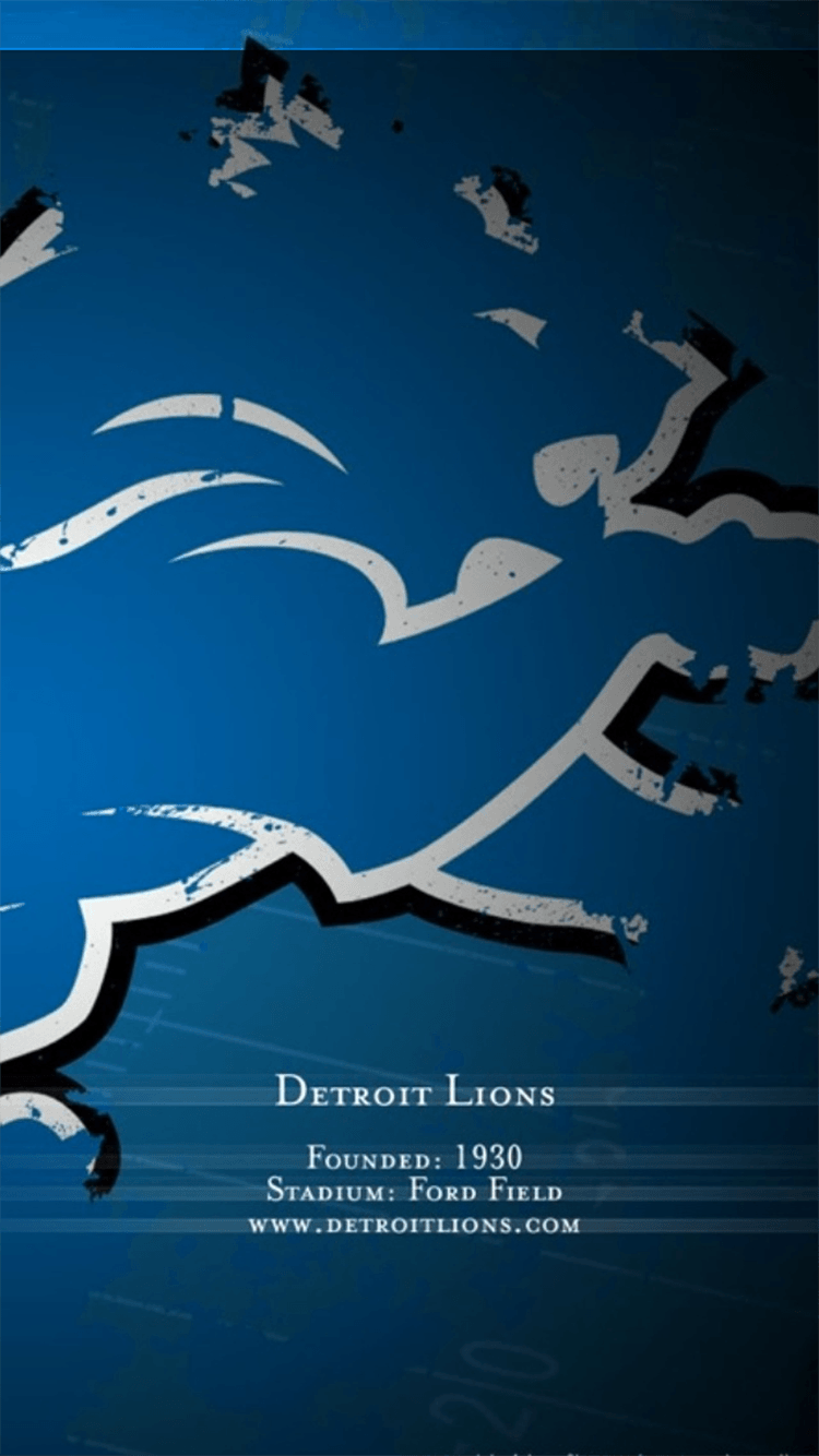 Get Detroit Lions Iphone Wallpaper Background