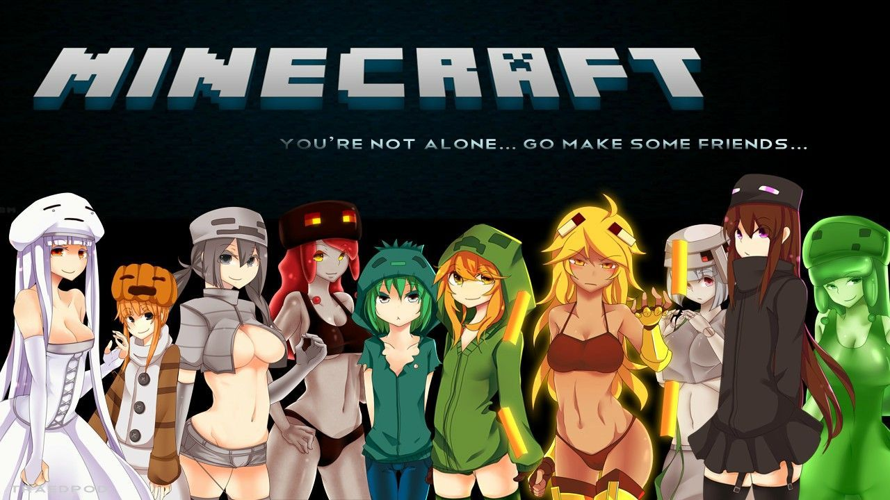 Cute Girl Minecraft Wallpapers - Top Free Cute Girl Minecraft