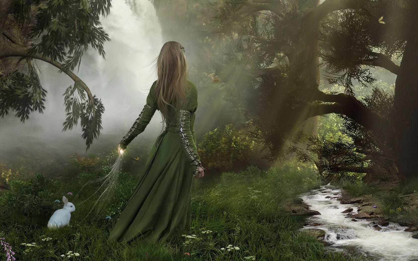 1680x1050 Đẹp.  Nhạc Celtic, Hình nền công chúa, Cô gái tưởng tượng