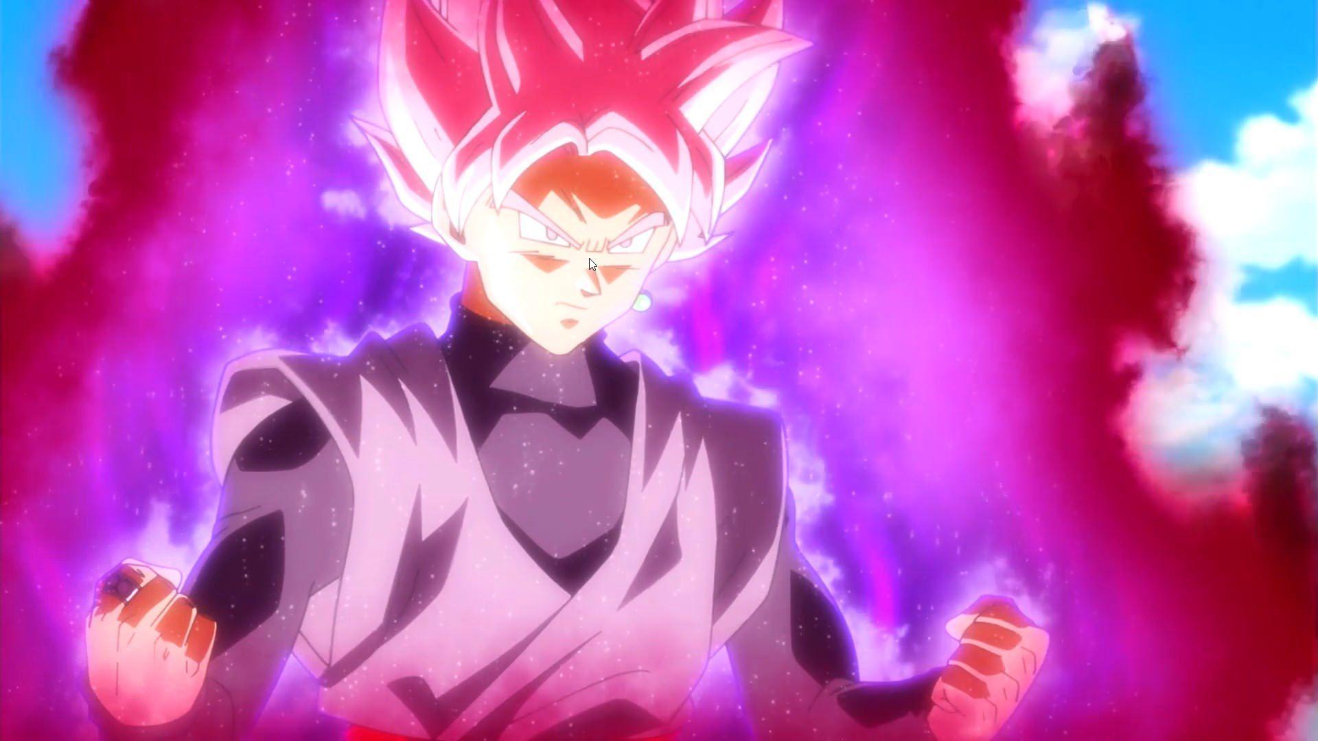 Super Saiyan Rose Wallpaper Hd: Black Goku Rose Wallpapers