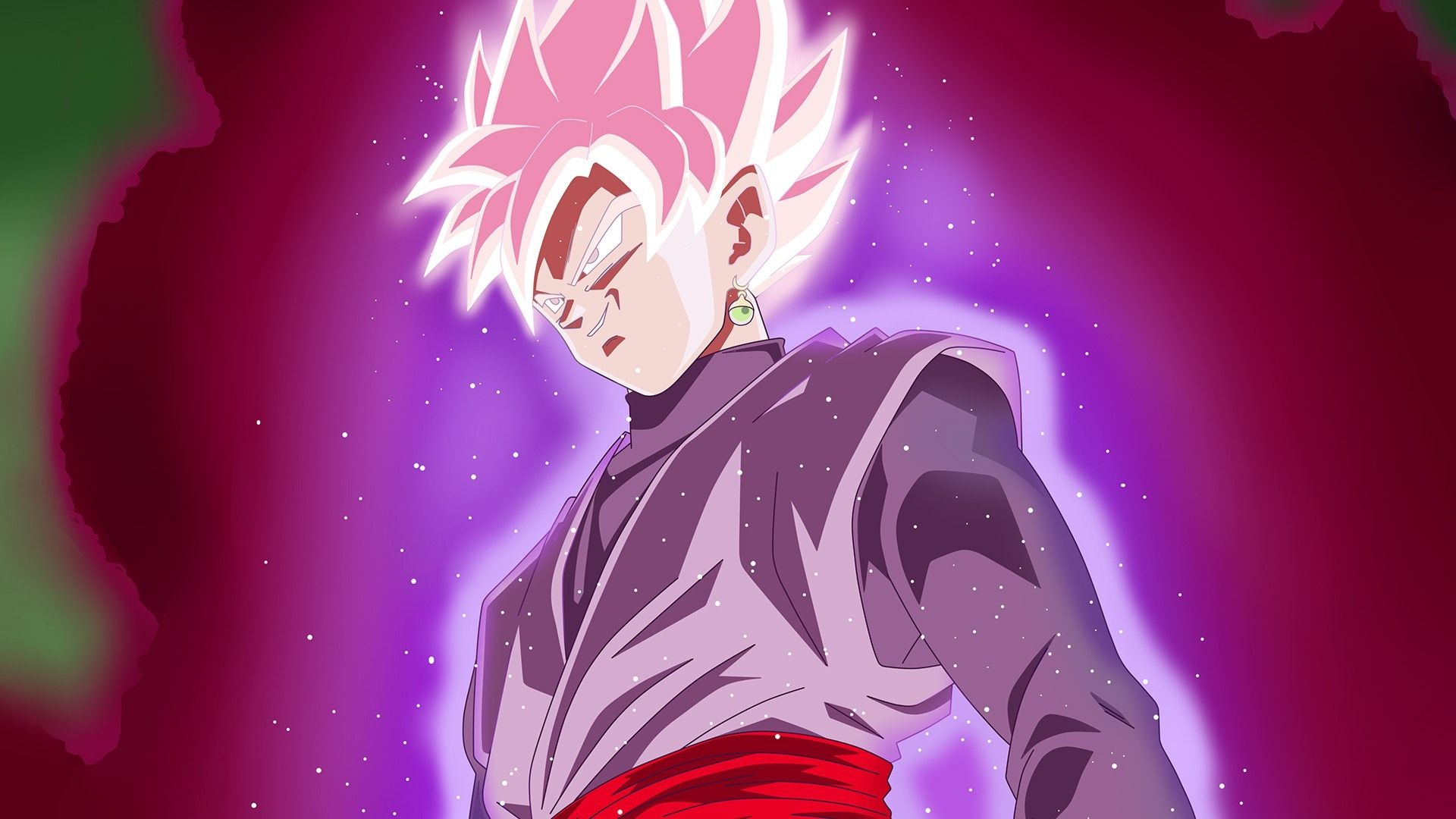 Super Saiyan Rose Goku Black Wallpaper: Black Goku Rose Wallpapers