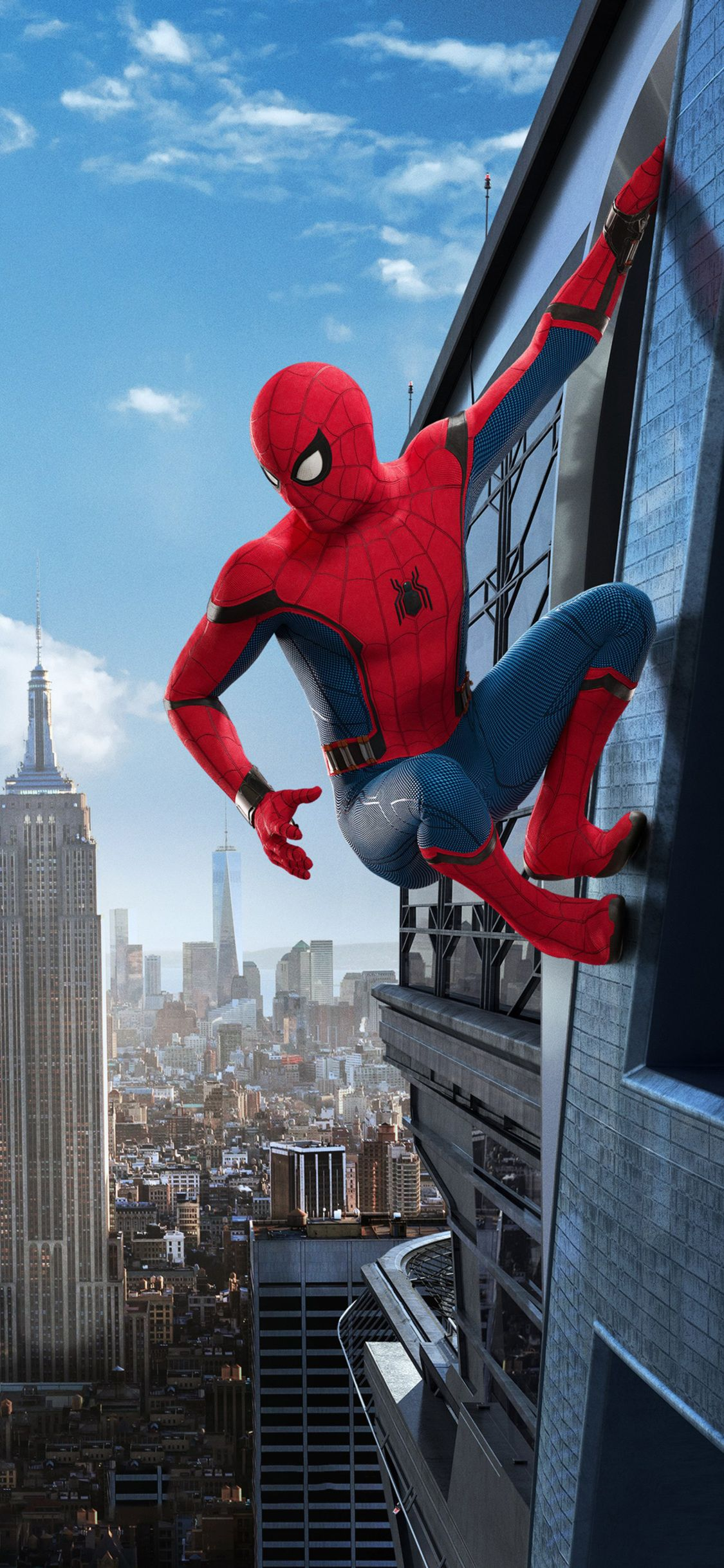 45 Best Free Spider Man Homecoming Iphone Wallpapers Wallpaperaccess