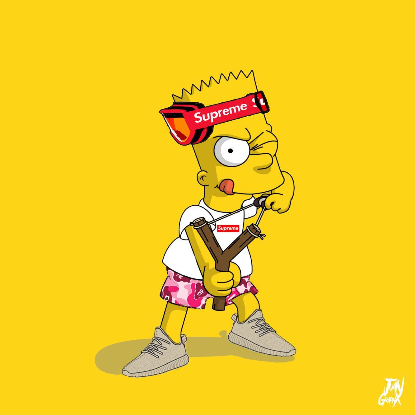 Supreme Bart Simpson Wallpapers - Top Free Supreme Bart Simpson
