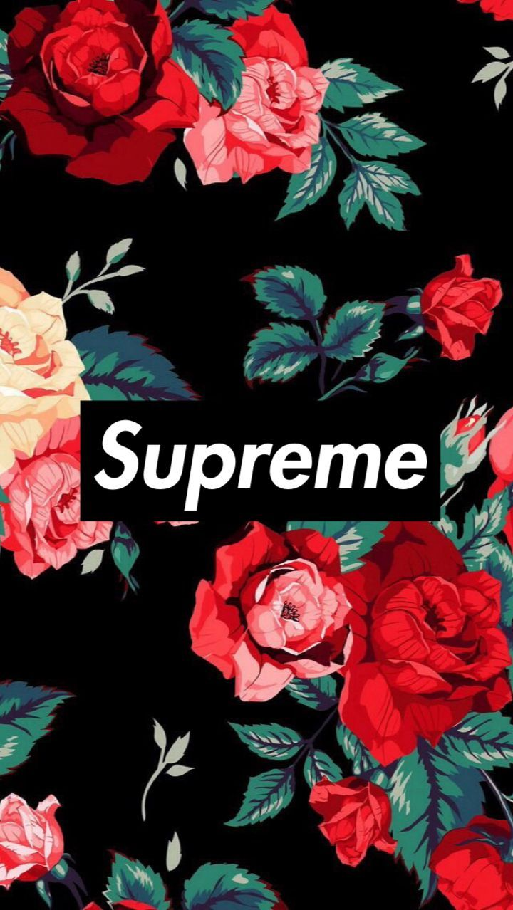 Supreme Floral Iphone Wallpapers Top Free Supreme Floral Iphone