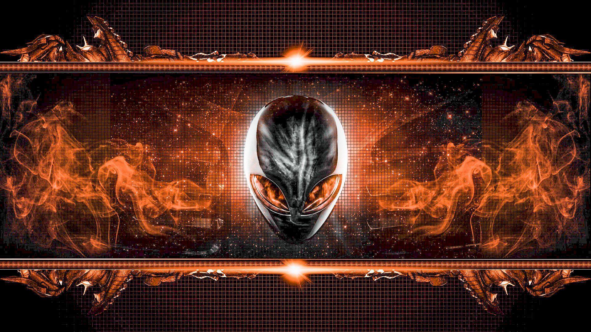 Orange Alienware Wallpapers - Top Free