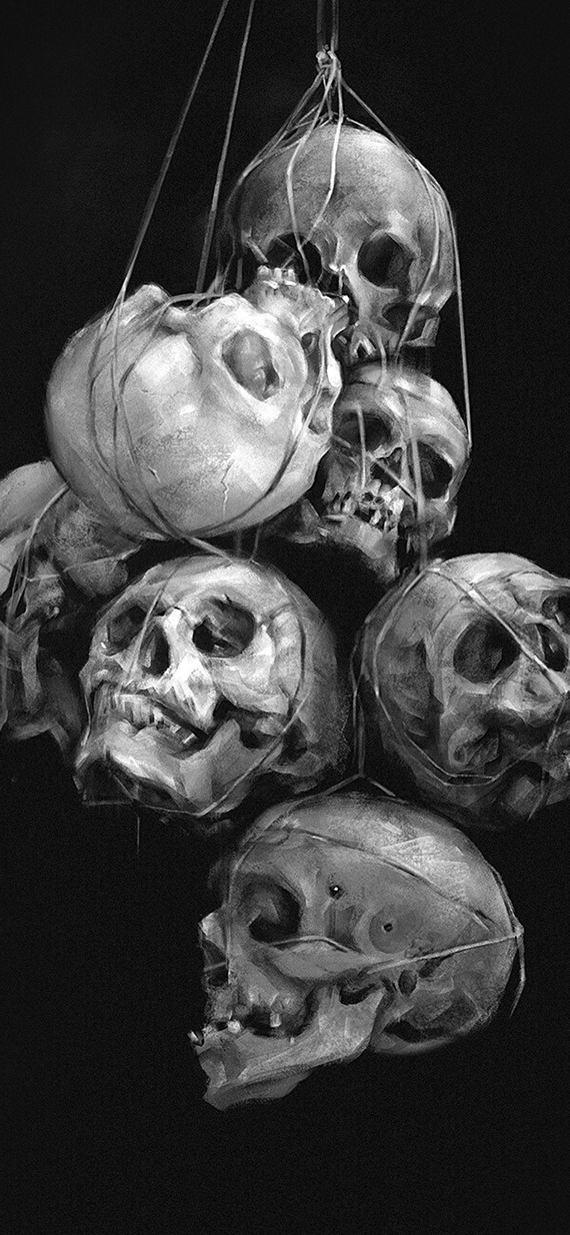 3d Skull Iphone Wallpapers Top Free 3d Skull Iphone
