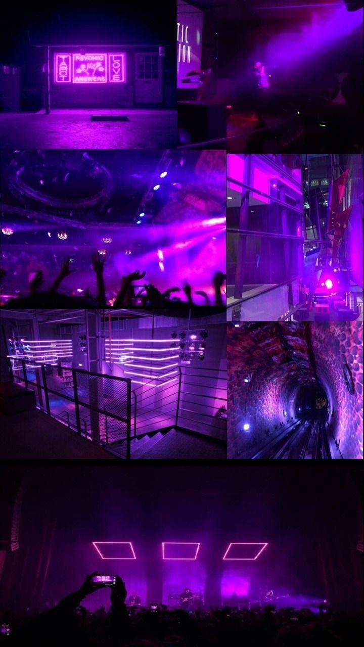 Neon Purple Aesthetic Wallpapers Top Free Neon Purple Aesthetic