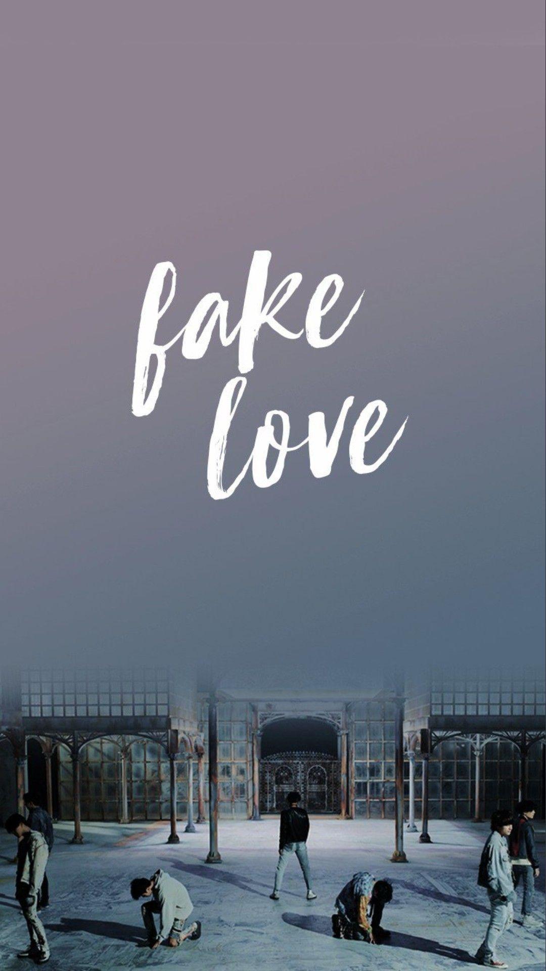 Bts Fake Love Wallpapers Top Free Bts Fake Love