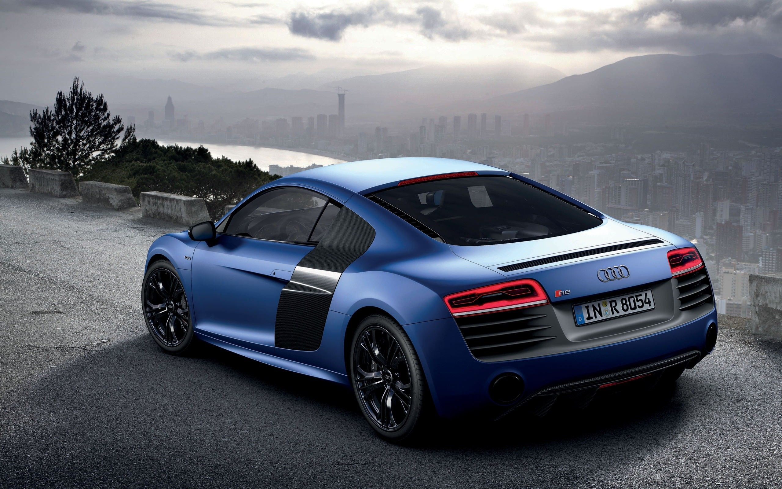 Blue Audi R8 Wallpapers Top Free Blue Audi R8 Backgrounds Wallpaperaccess