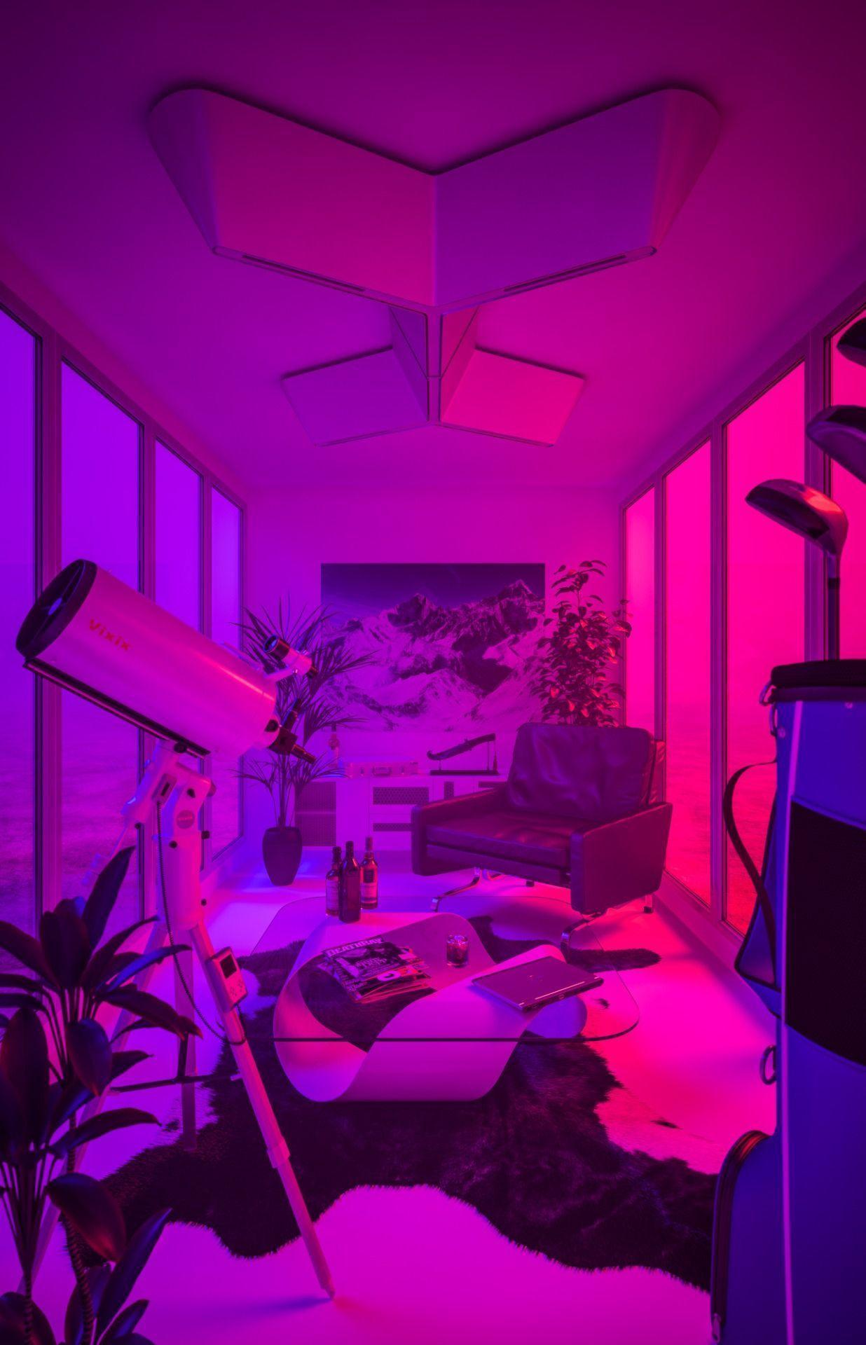 Purple Aesthetic Room Wallpapers - Top Free Purple ...
