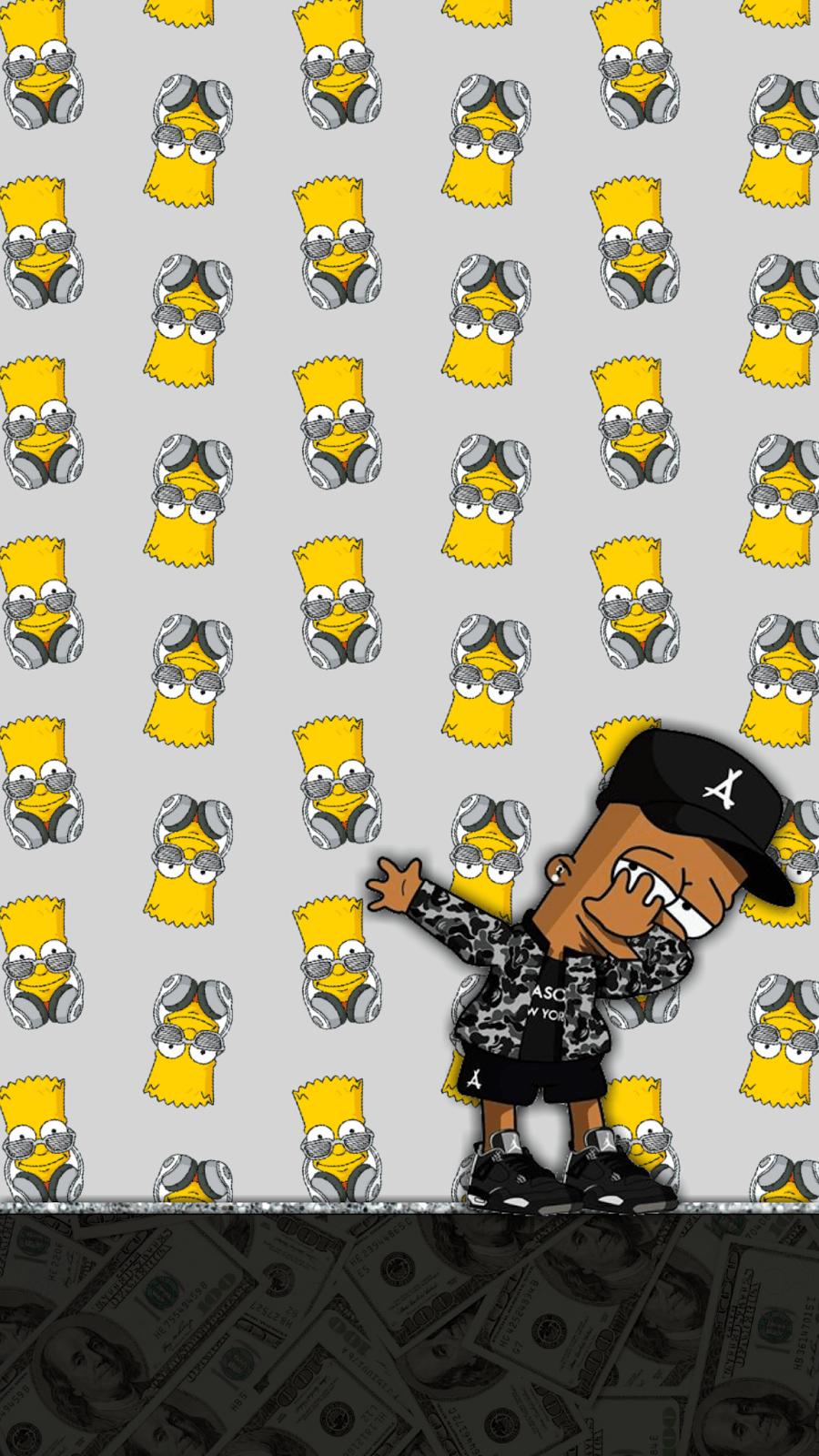 Supreme Bart Simpson Wallpapers - Top Free Supreme Bart ...