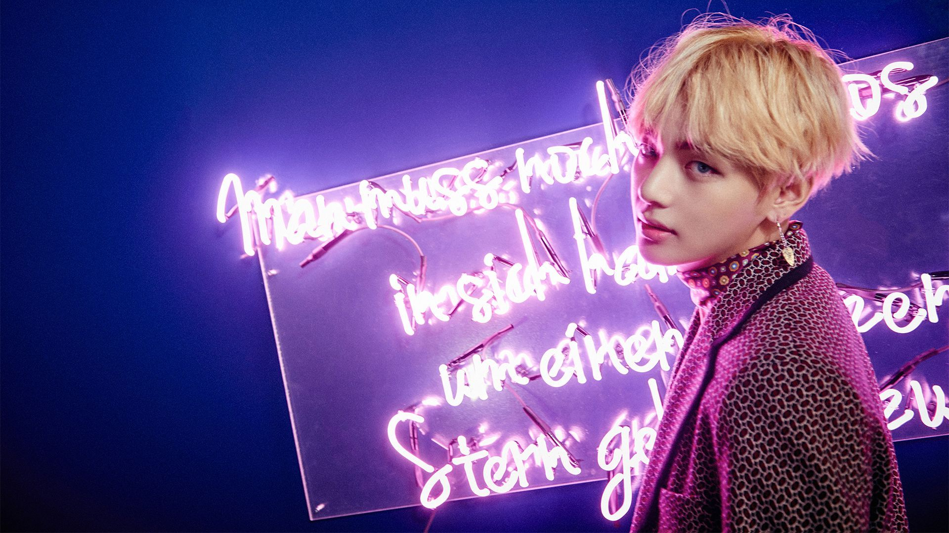 Bts V Computer Wallpapers Top Free Bts V Computer Backgrounds Wallpaperaccess