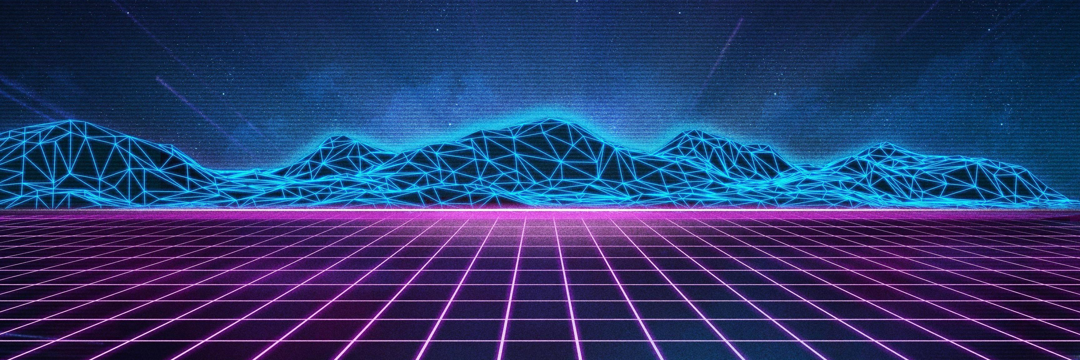 3456x1152 Gói hình nền 4K thập niên 80 vào năm 2019. Hình nền.  Hình nền, iPhone
