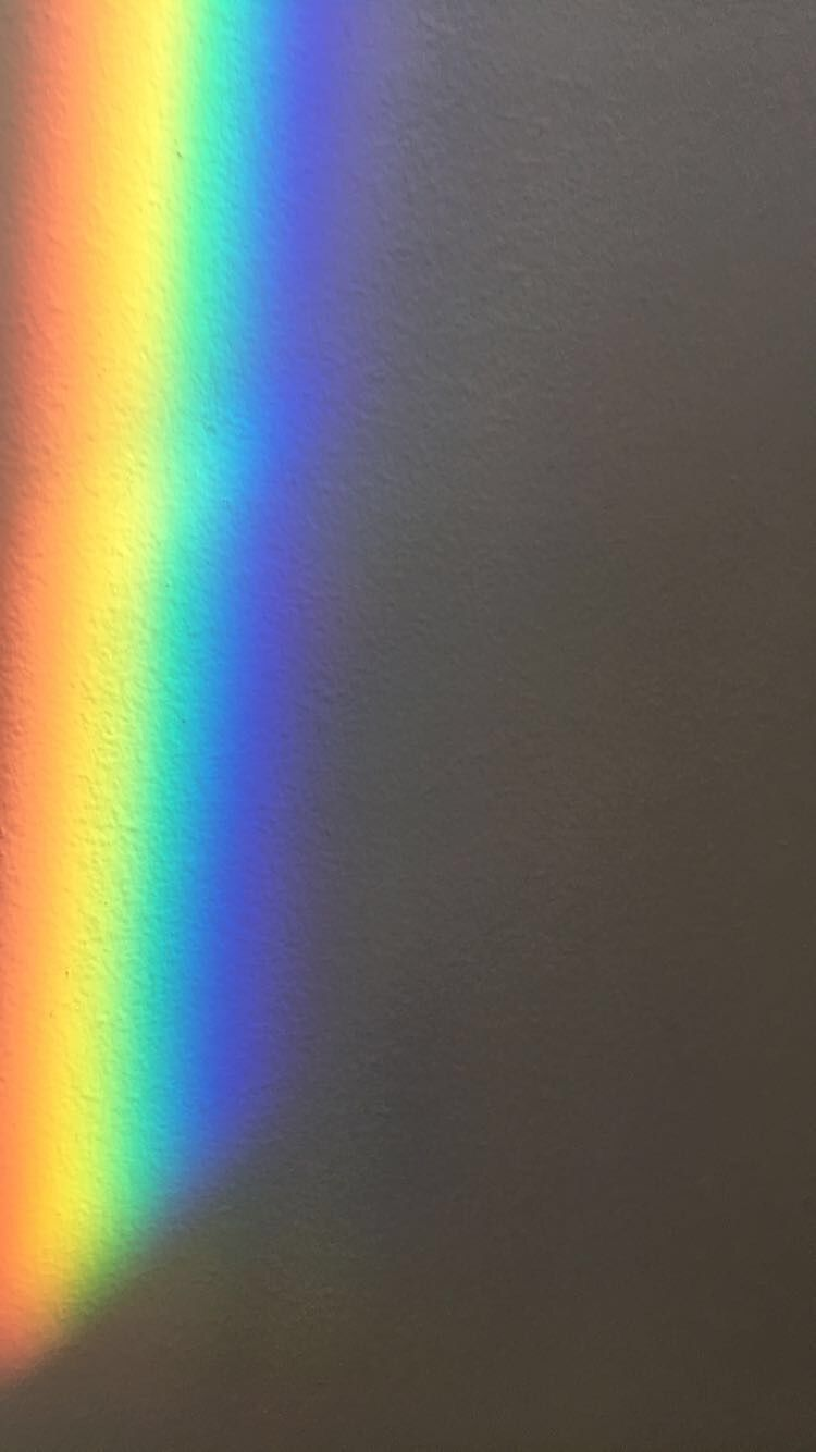 Black Aesthetic Rainbow Wallpaper