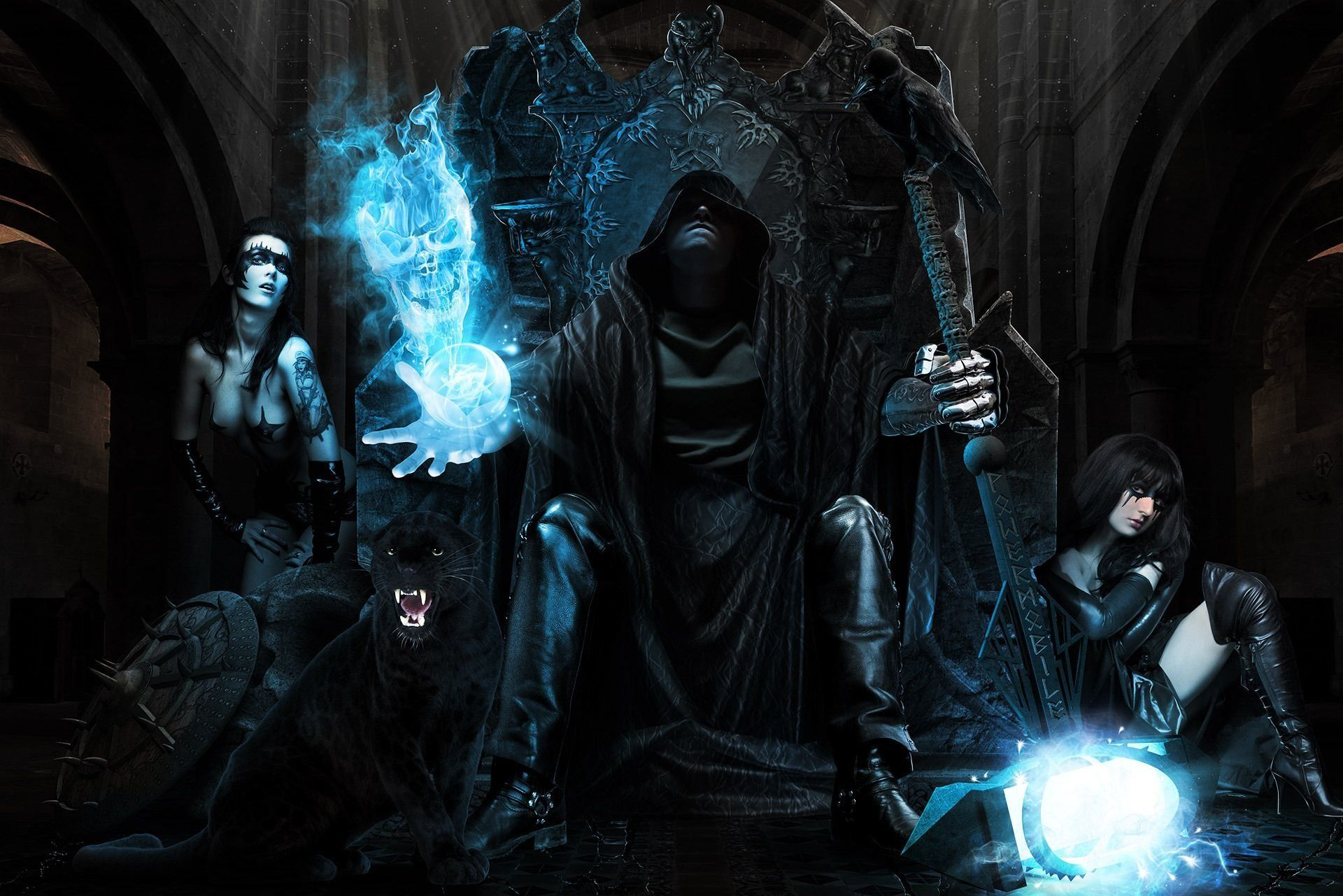 Black Wizard Wallpapers Top Free Black Wizard Backgrounds