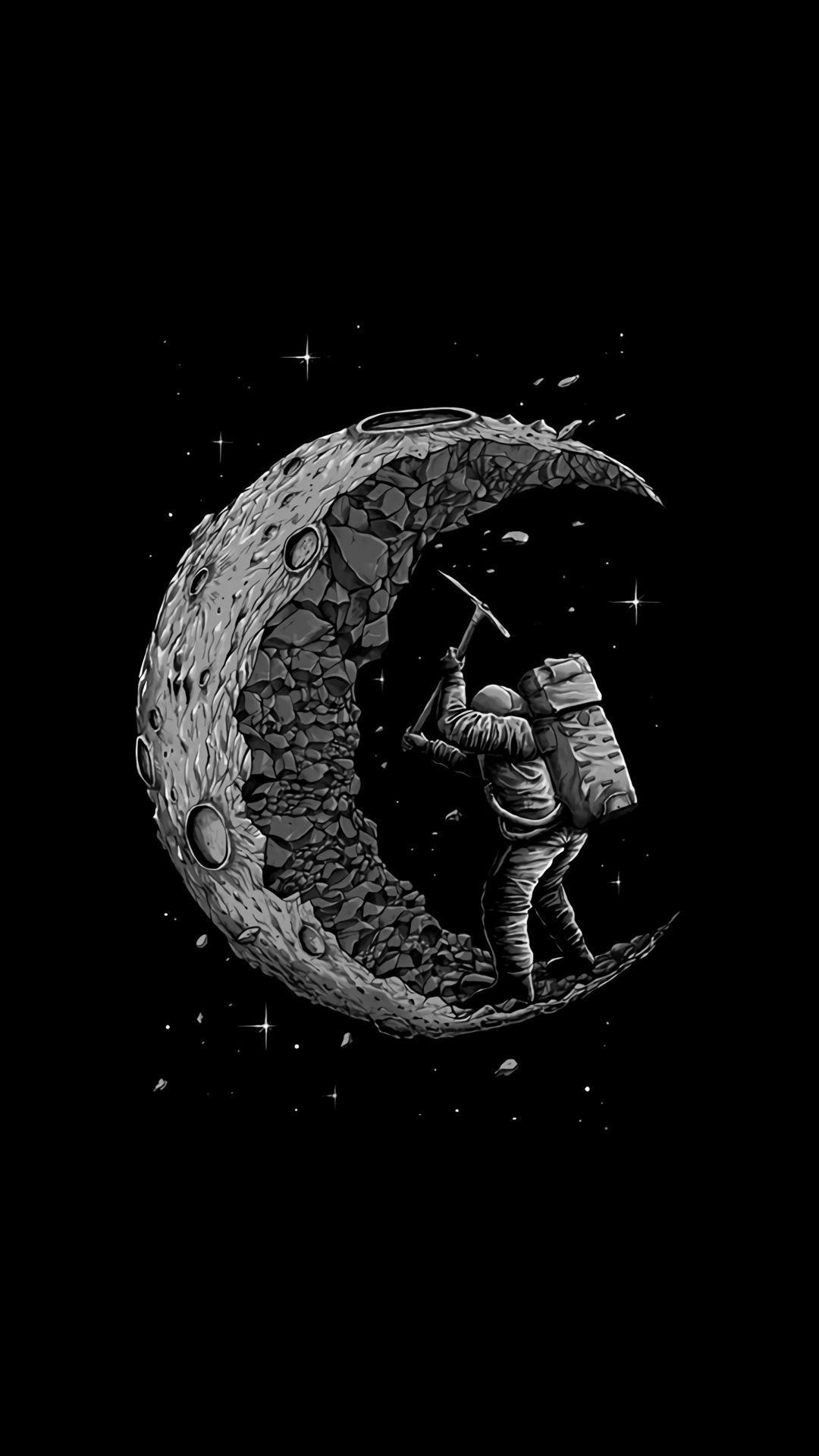 aesthetic moon wallpapers