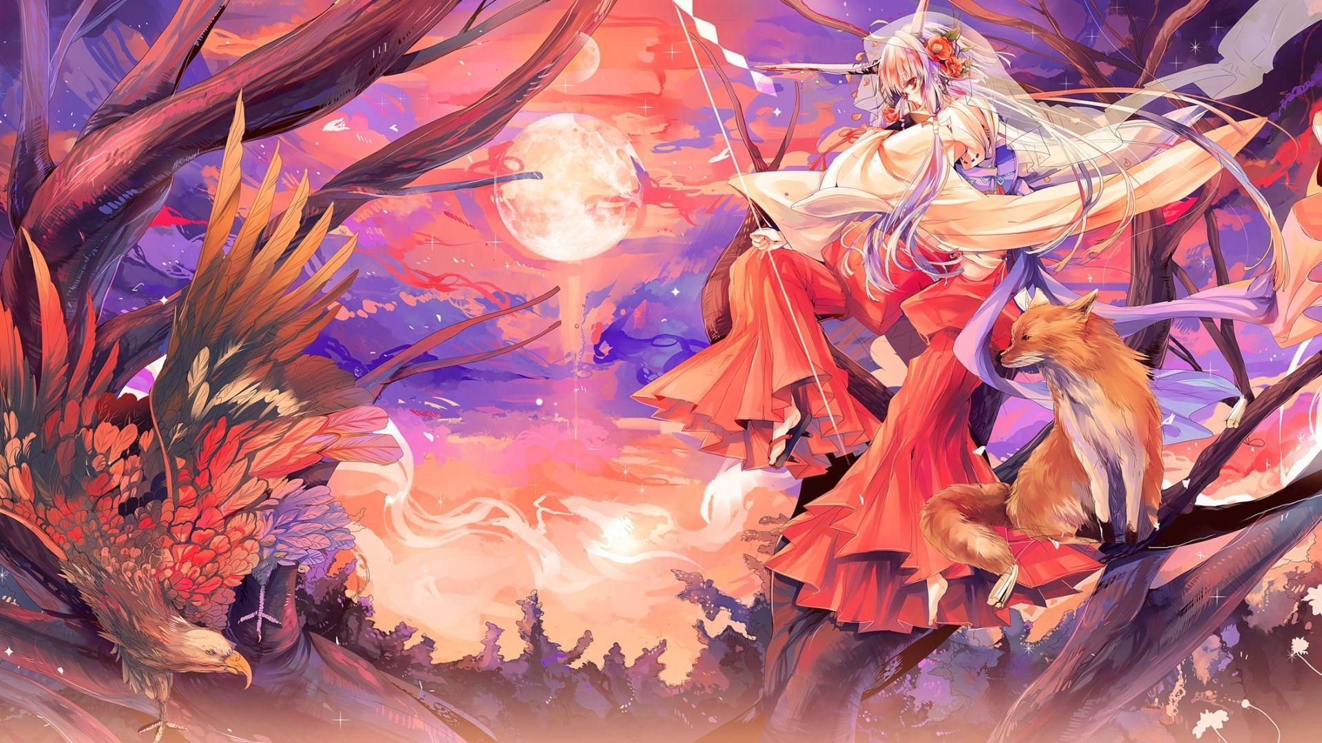 Anime Fox Demon Wallpapers Top Free Anime Fox Demon Backgrounds