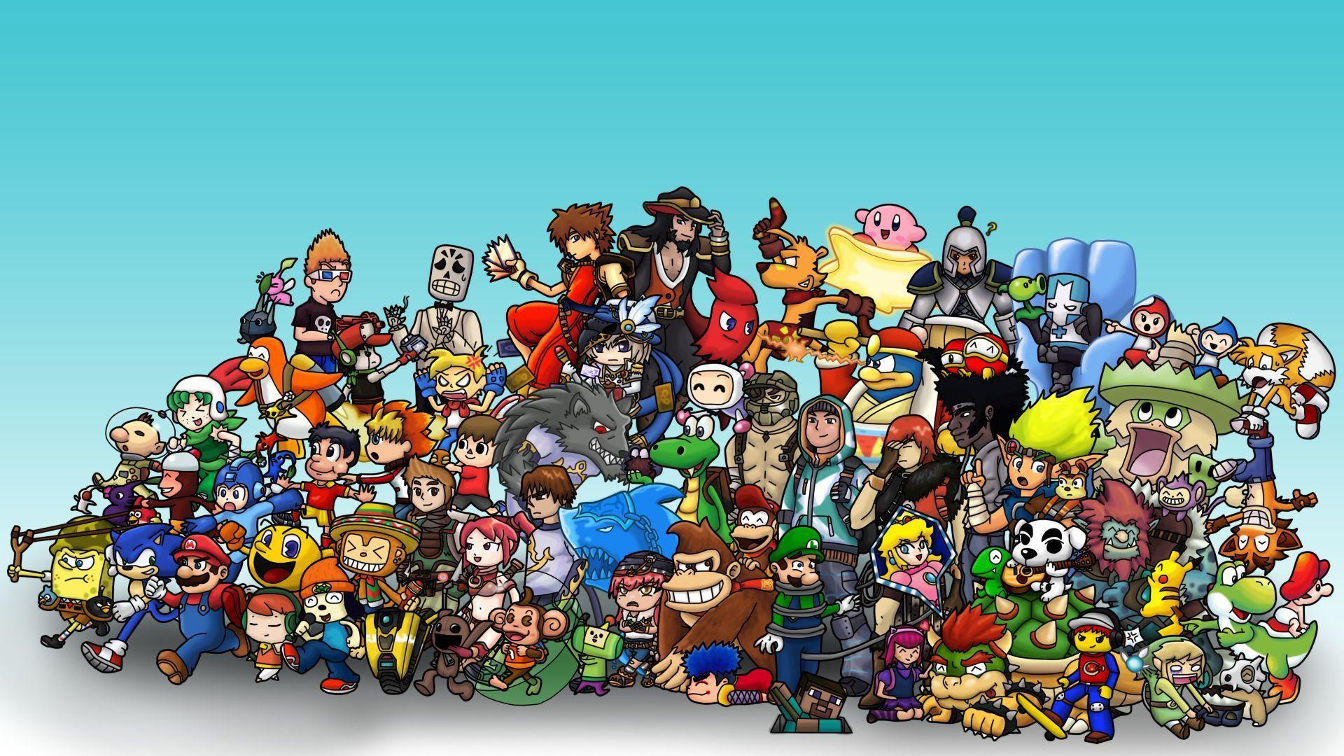 Cartoon Games Wallpapers Top Free Cartoon Games Backgrounds Wallpaperaccess