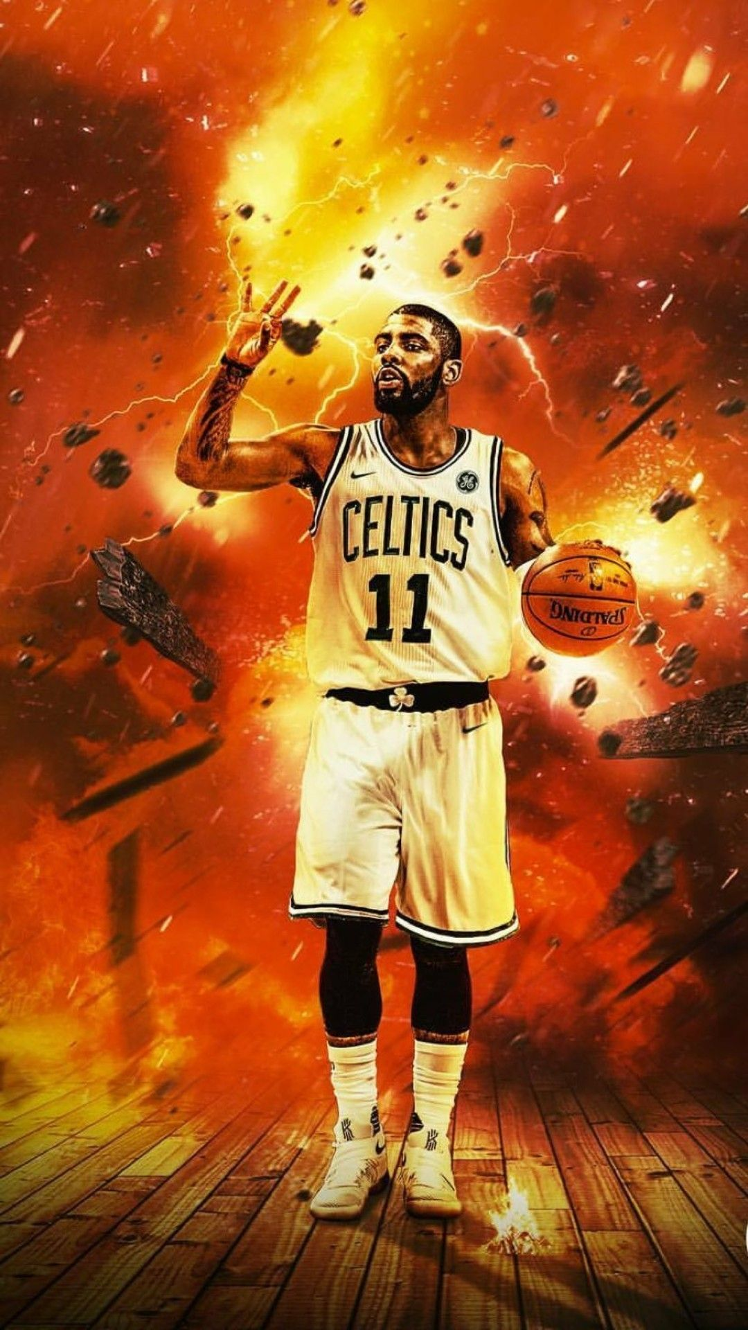 "1080x1920 Kyrie Irving 2018 Wallpapers (73+ background pictures)"">. Download"