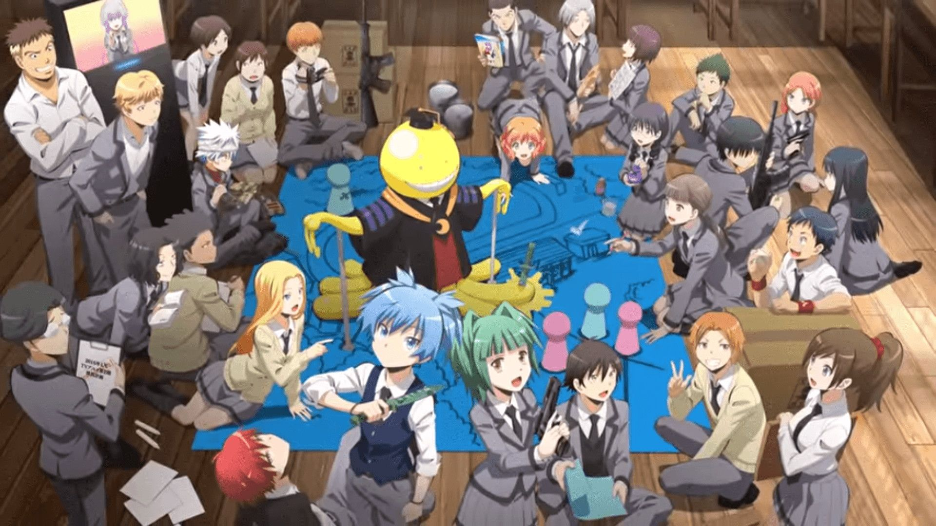 Assassination Classroom Wallpapers Top Free Assassination