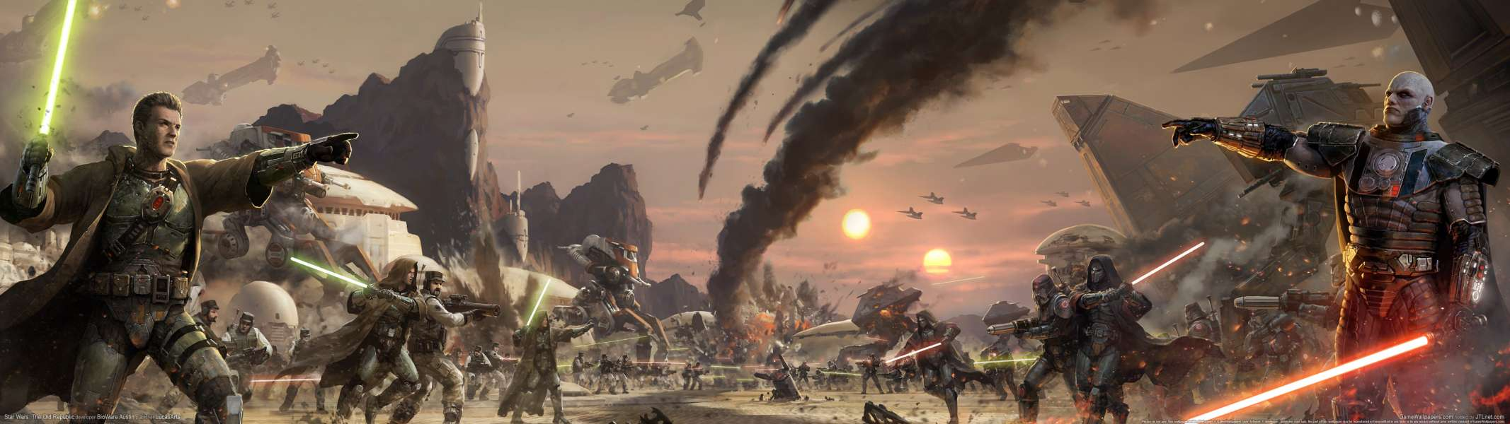 Star Wars Dual Screen Wallpapers Top Free Star Wars Dual Screen Backgrounds Wallpaperaccess