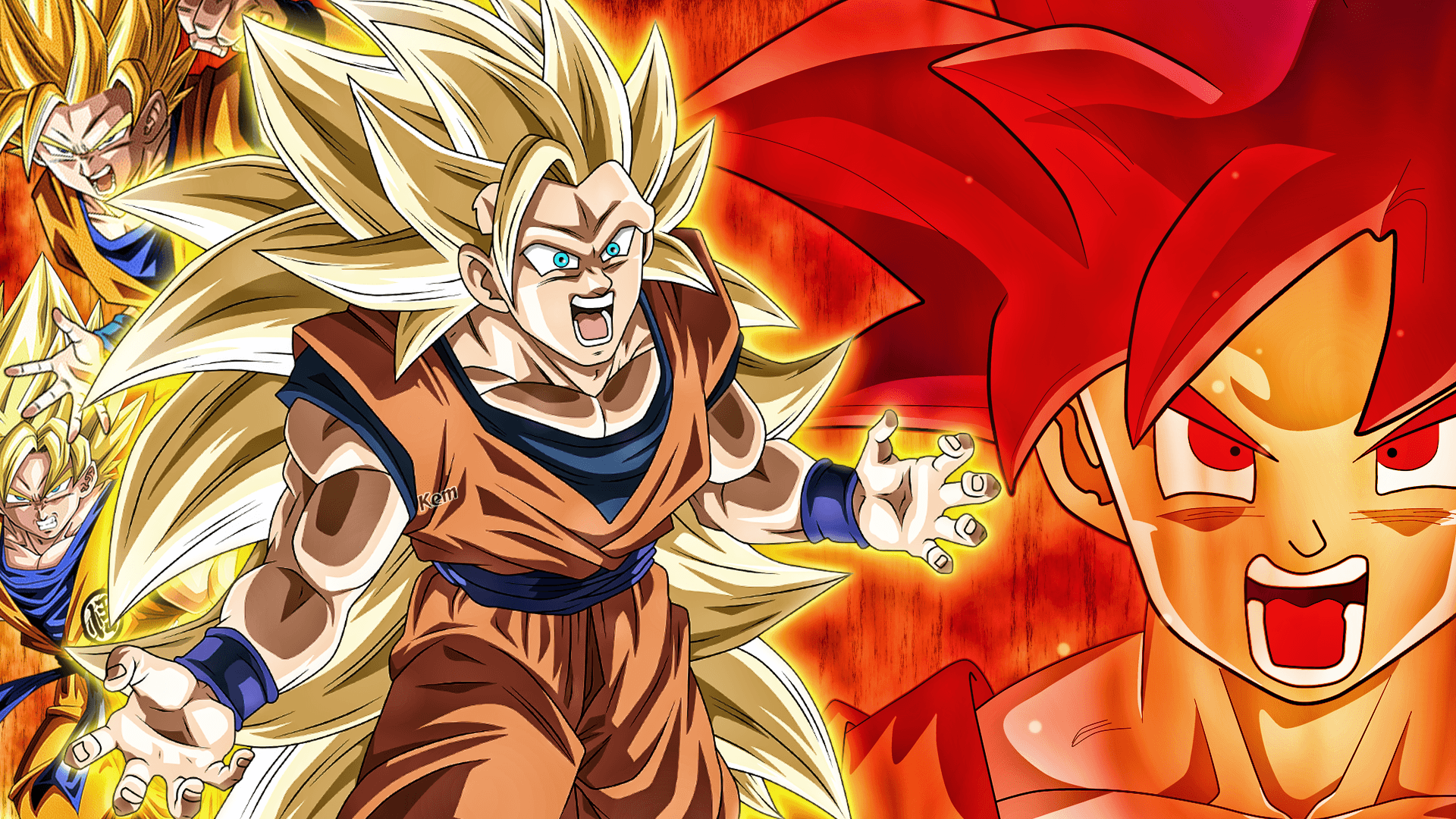 Goku Ssj3 Wallpapers Top Free Goku Ssj3 Backgrounds