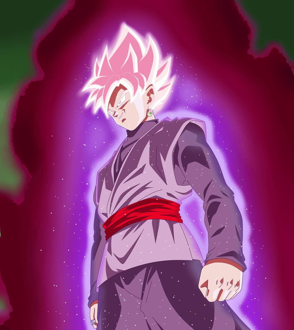 Goku Black Ssj Rose Wallpapers Top Free Goku Black Ssj Rose