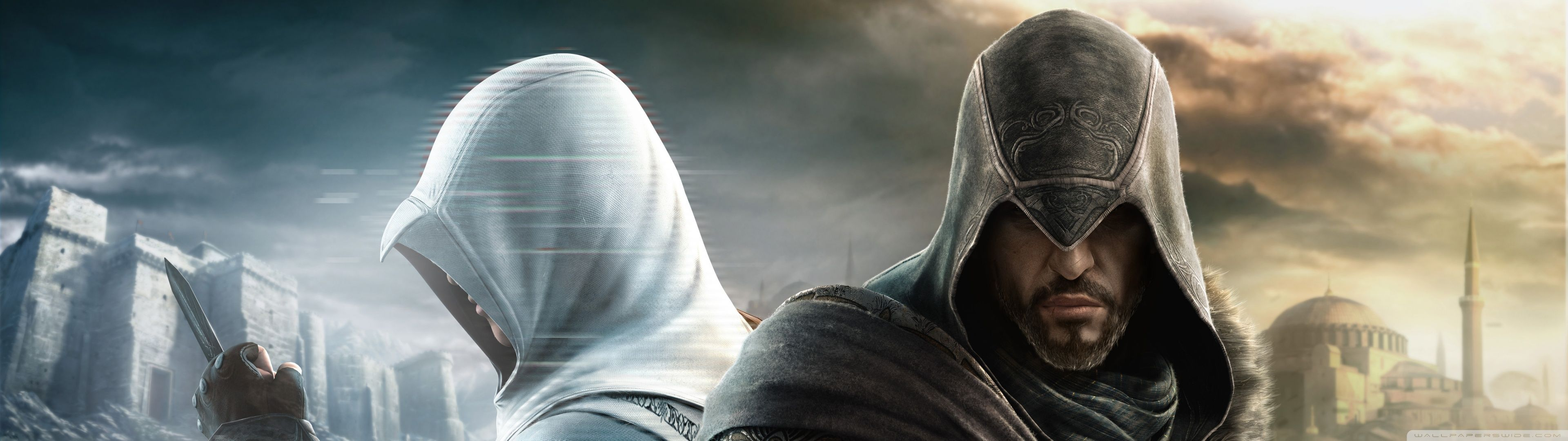 Assassin S Creed Dual Screen Wallpapers Top Free Assassin S Creed Dual Screen Backgrounds Wallpaperaccess