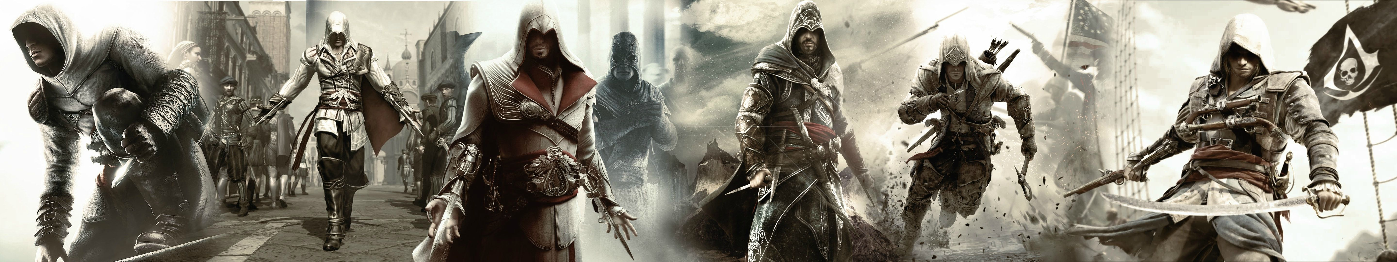 Assassin S Creed Dual Screen Wallpapers Top Free Assassin S