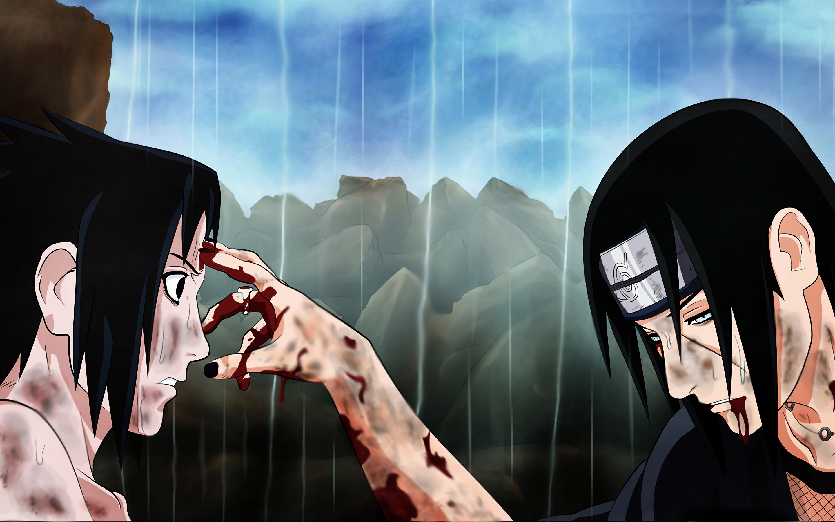 Sasuke And Itachi Wallpapers Top Free Sasuke And Itachi Backgrounds Wallpaperaccess