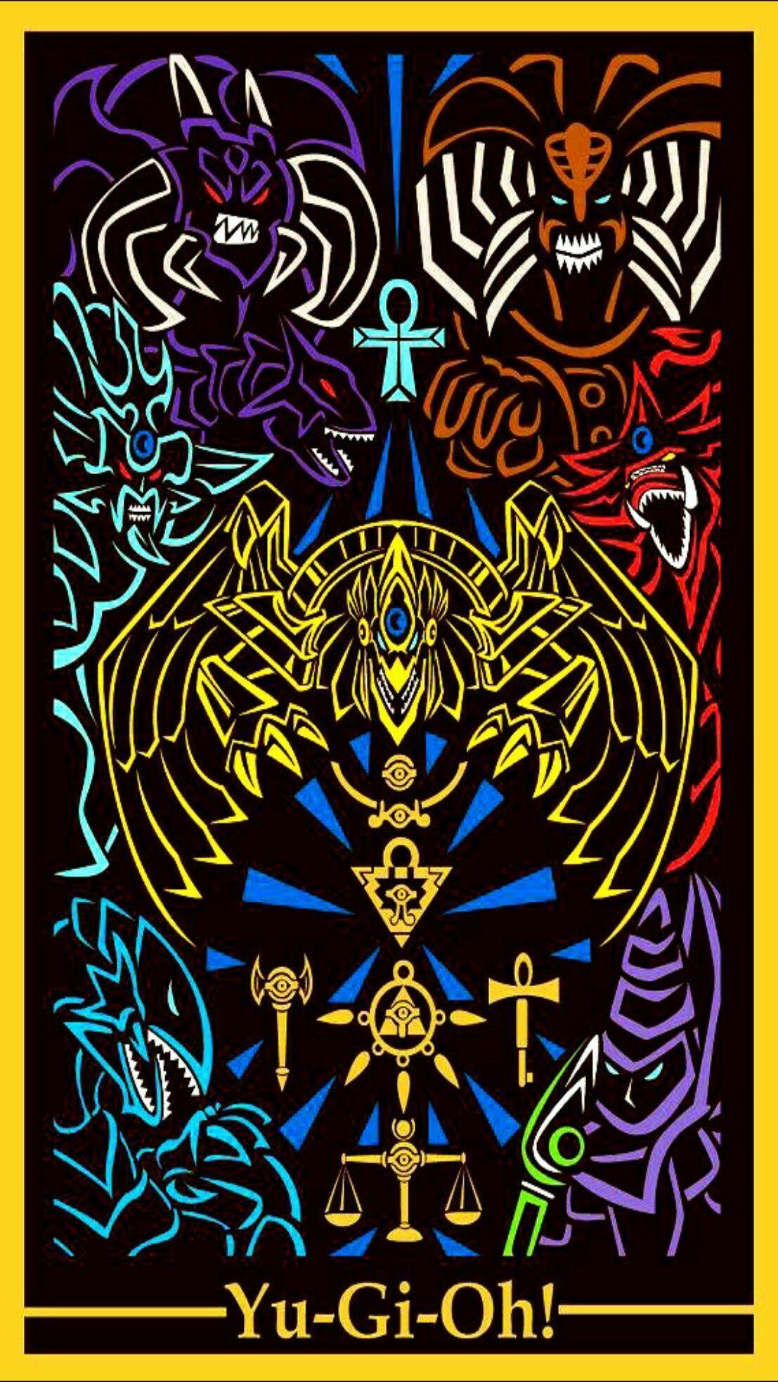 Yu Gi Oh Egyptian God Cards Wallpapers Top Free Yu Gi Oh