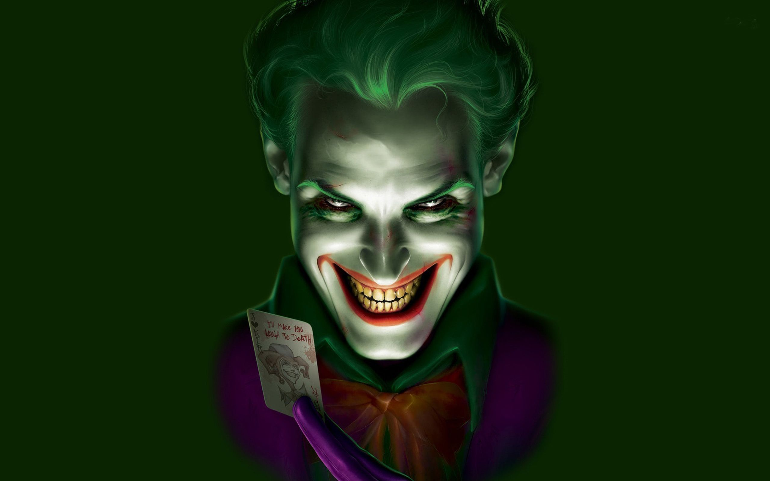 Purple And Green Joker Wallpapers Top Free Purple And