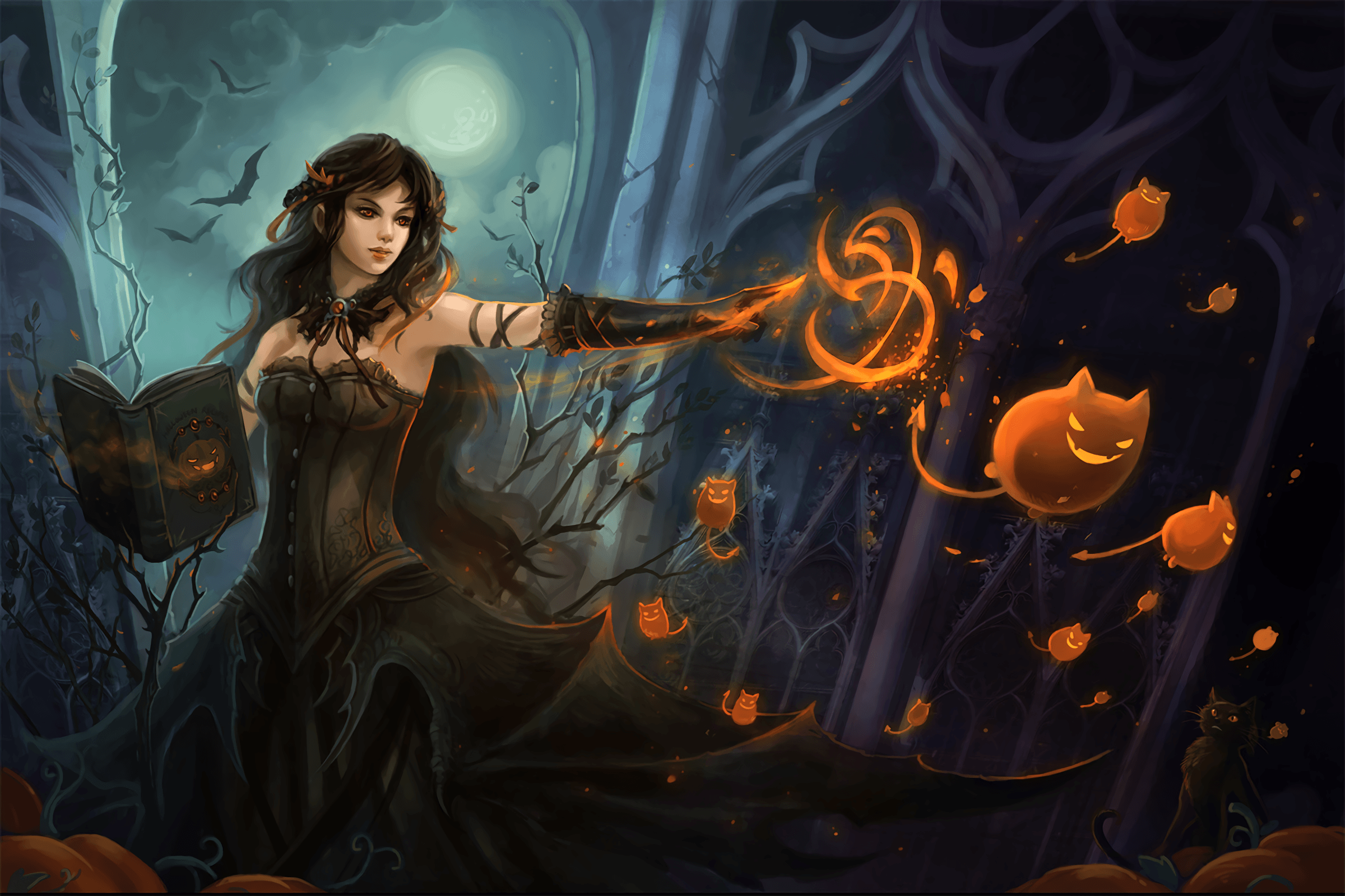 Witch Wallpapers Top Free Witch Backgrounds Wallpaperaccess