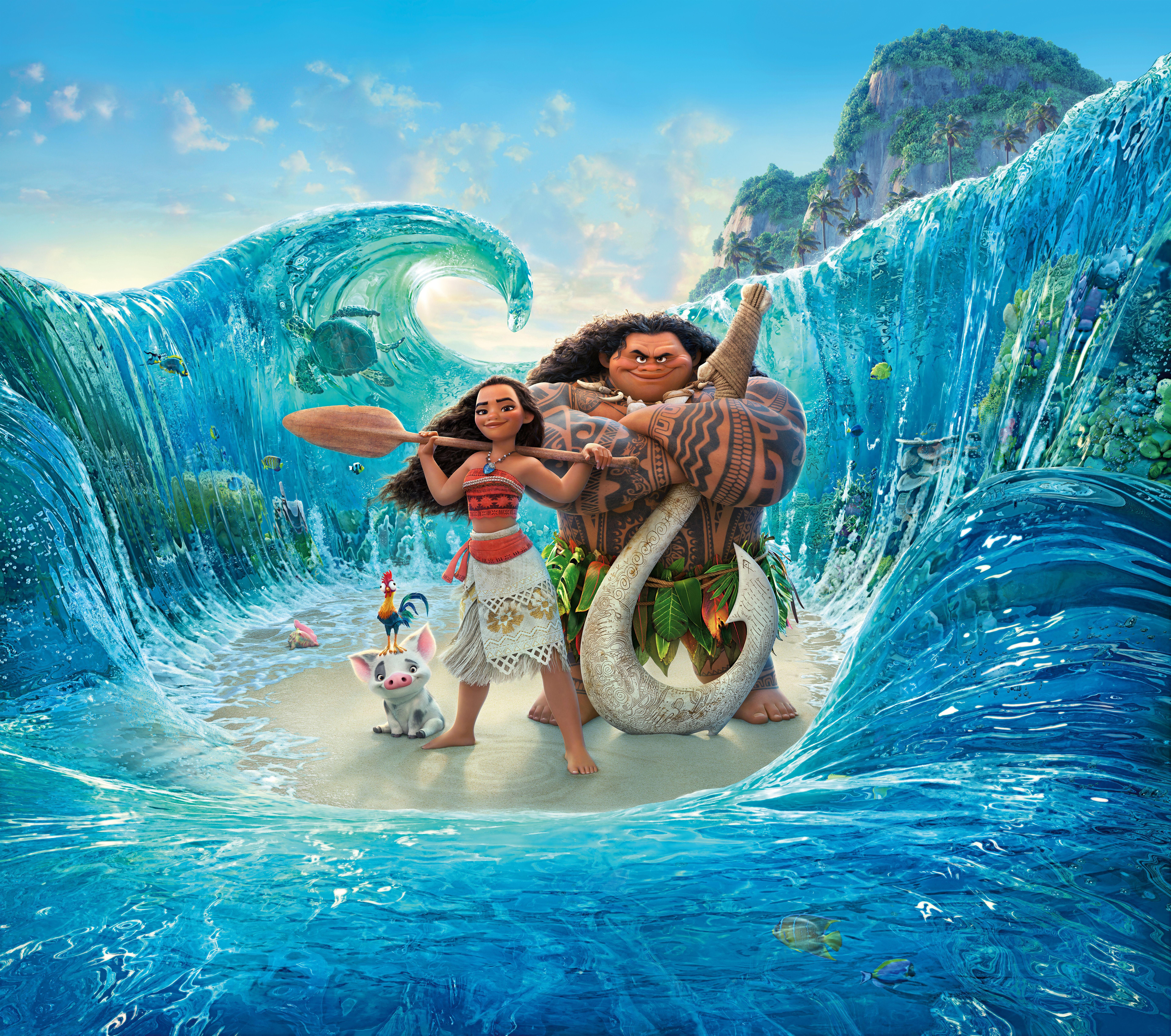 Disney Moana Wallpapers - Top Free