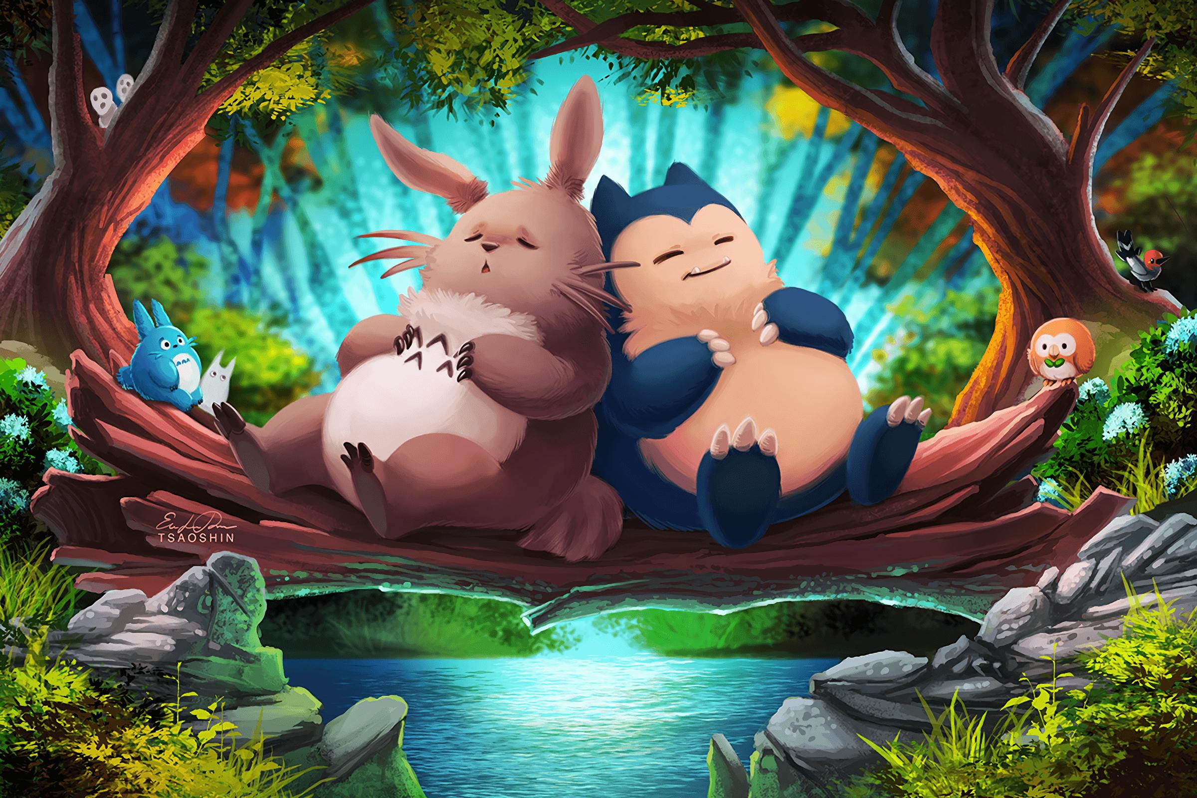 Totoro Pikachu Wallpapers - Top Free Totoro Pikachu ...