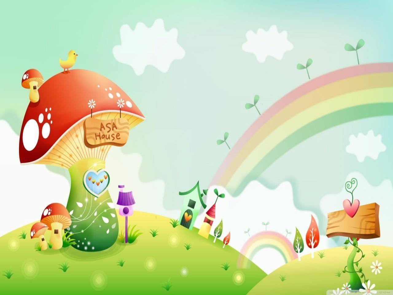 Cartoon Scenery Wallpapers Top Free Cartoon Scenery