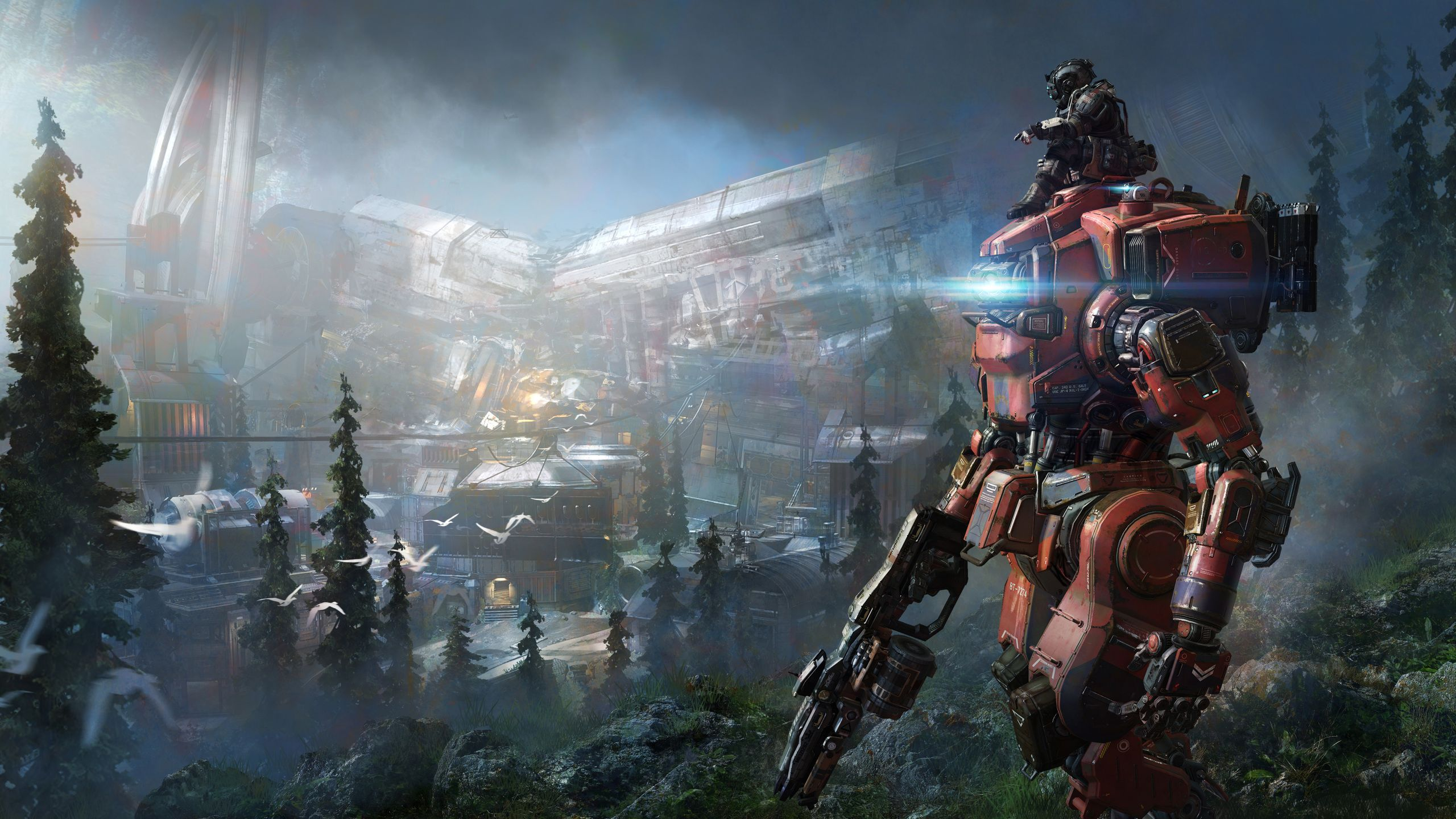 Free Babes Games titanfall gaming ultra hd wallpapers - top free titanfall