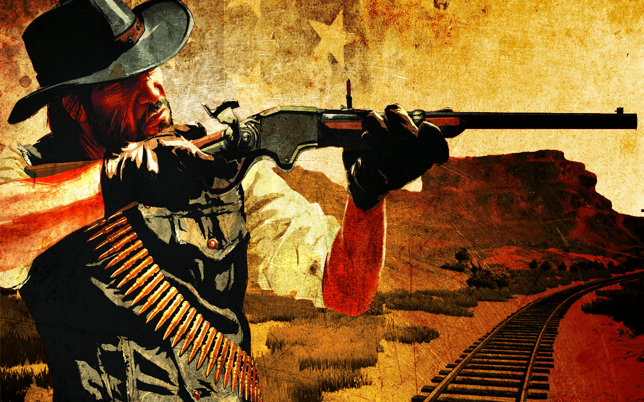 Red Dead Redemption Gun Wallpapers Top Free Red Dead Redemption