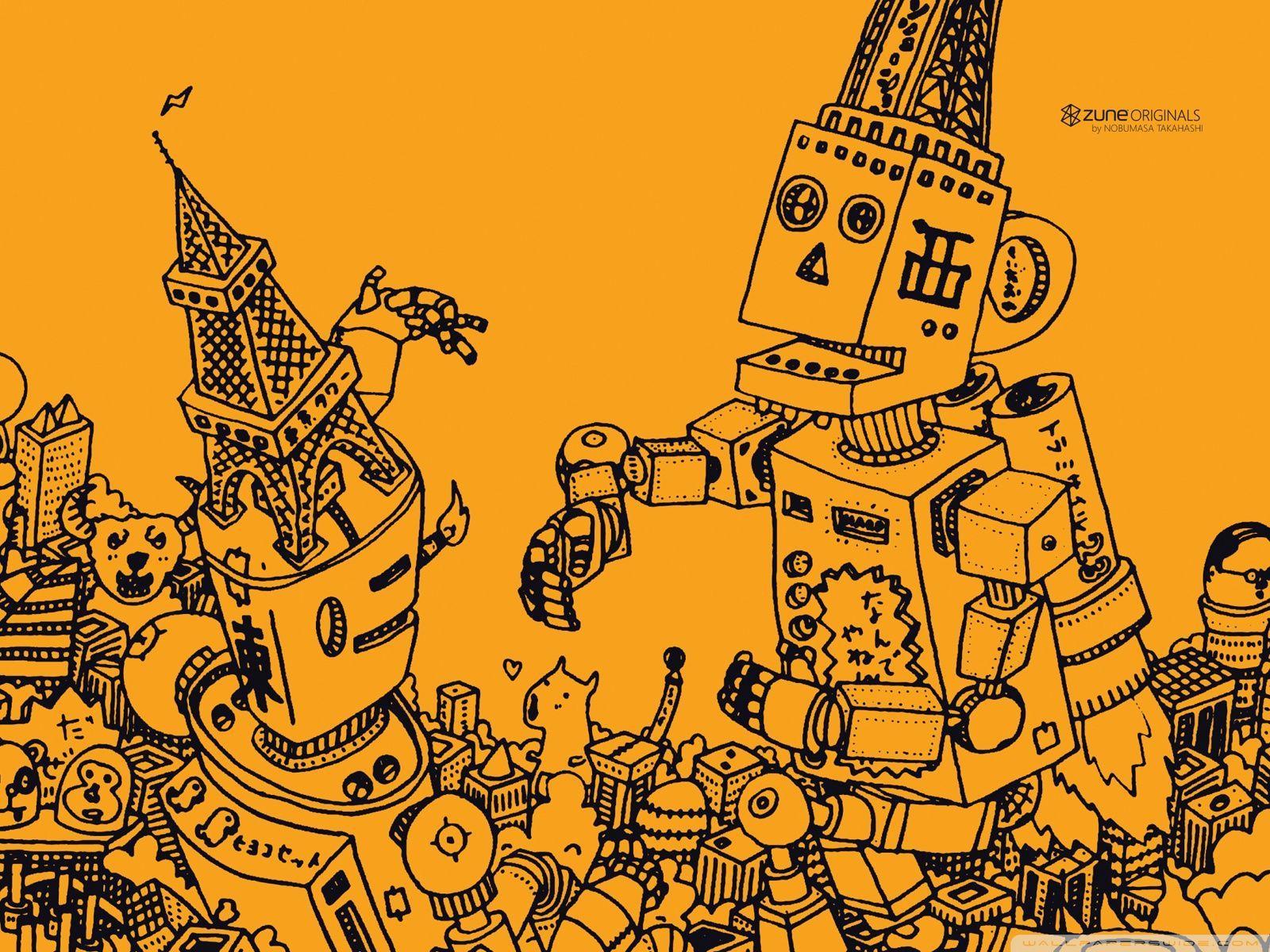 Cartoon Robot Wallpapers - Top Free Cartoon Robot ...