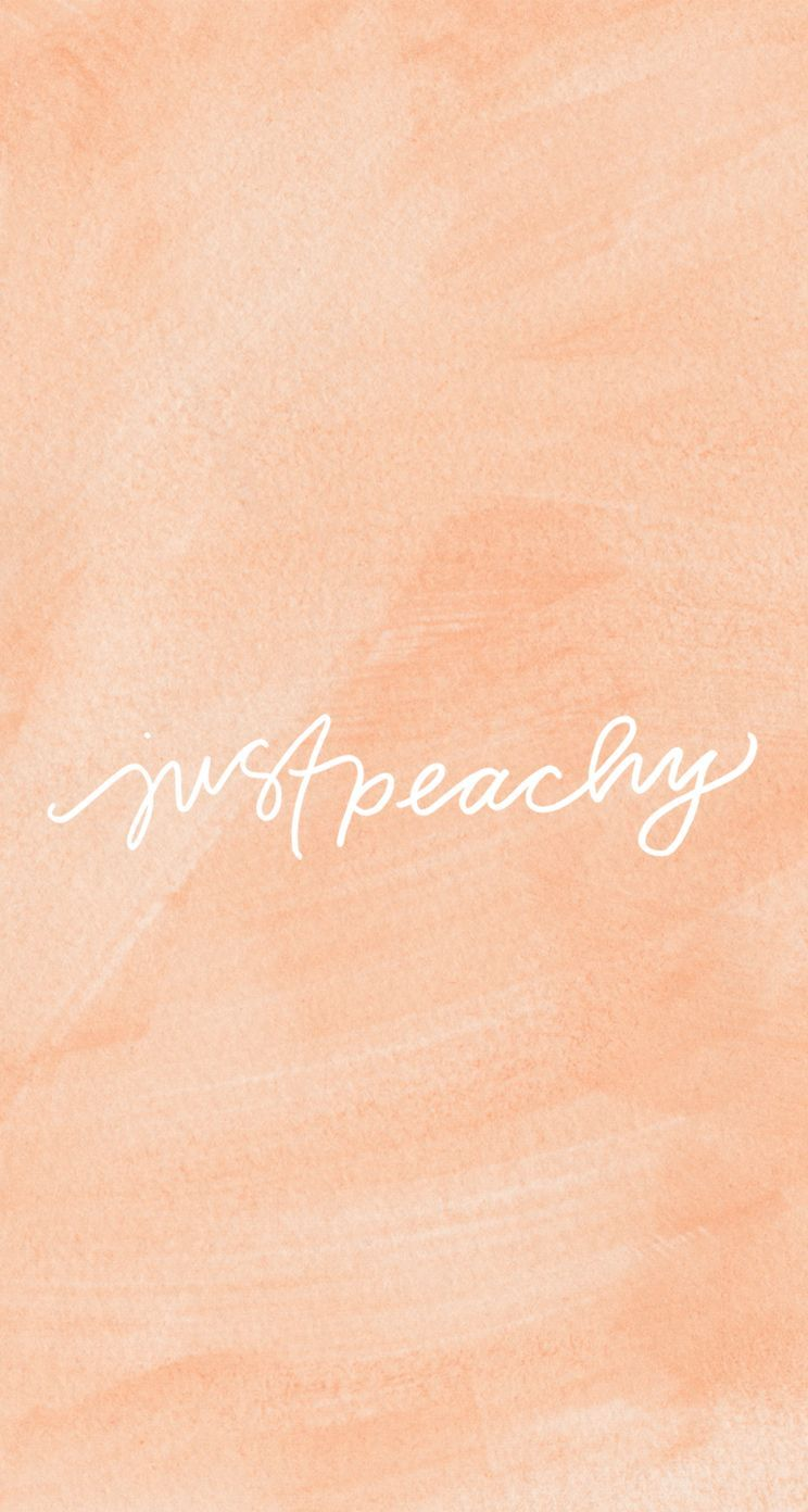 Peach Aesthetic Wallpapers Top Free Peach Aesthetic Backgrounds