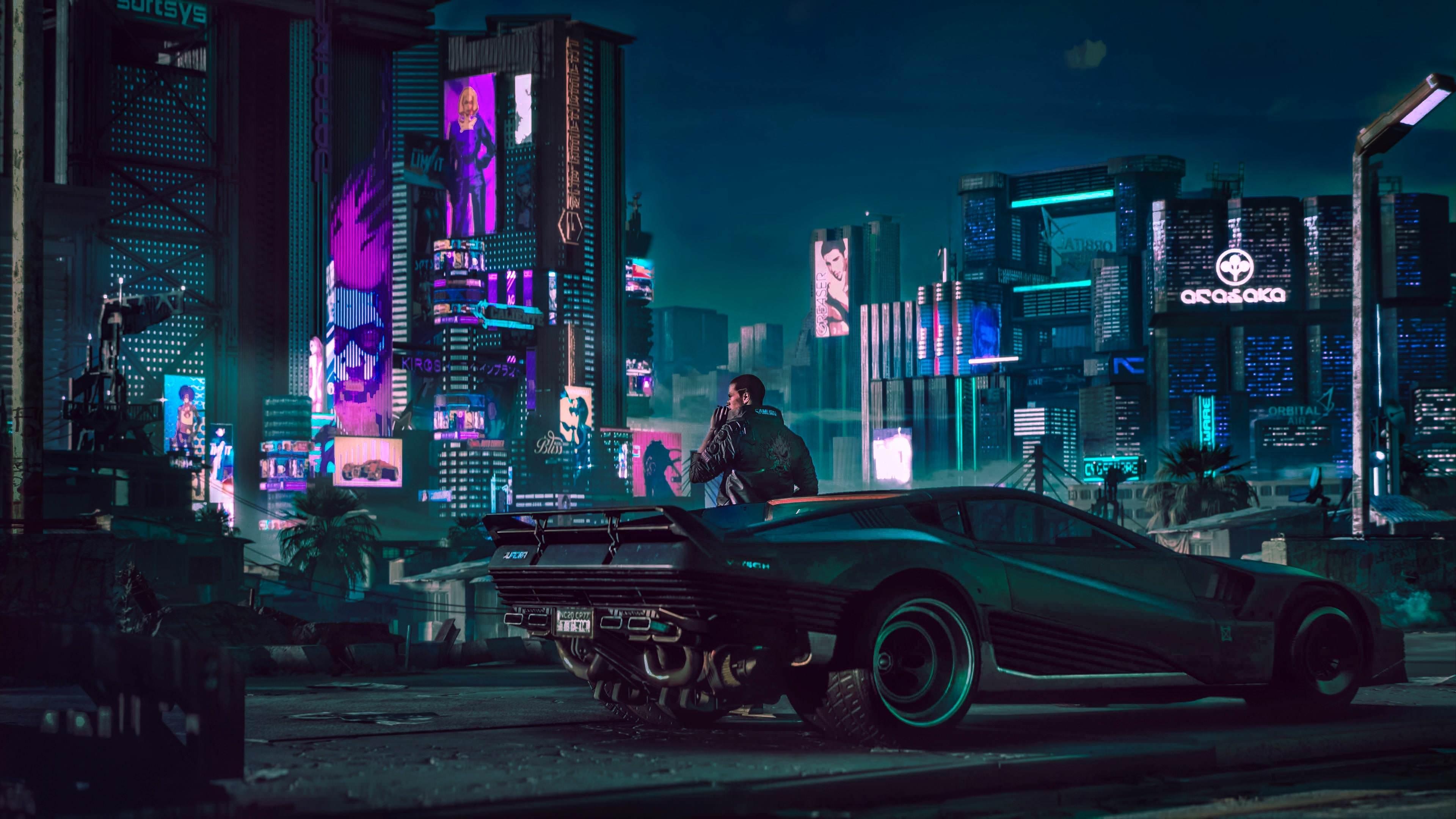 Cyberpunk 2077 City Wallpaper: Cyberpunk Desktop Wallpapers