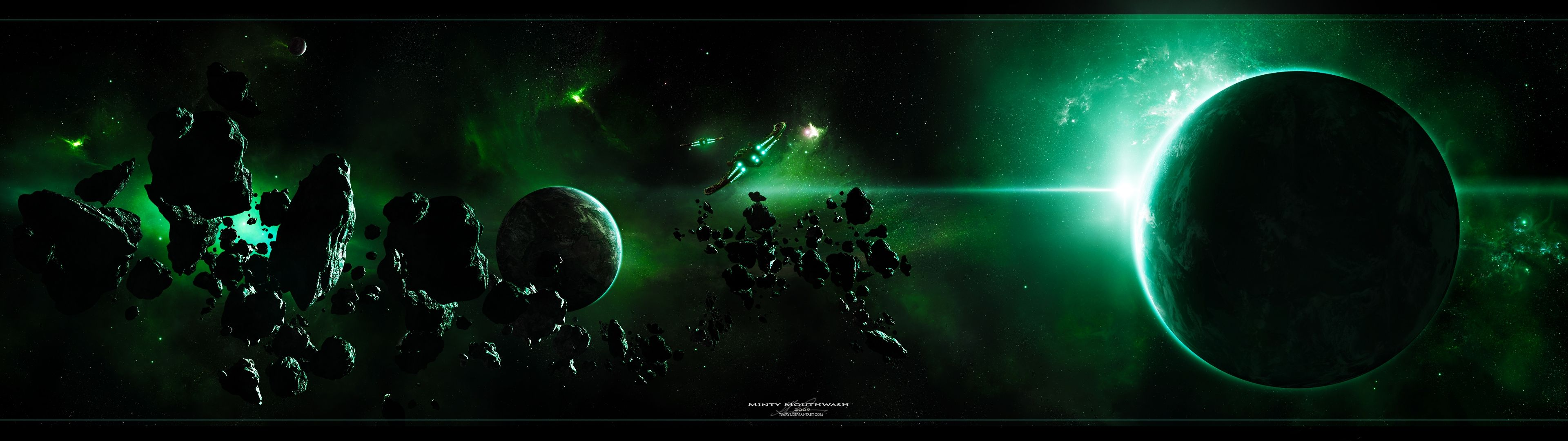 Awesome Dual Monitor Wallpapers Top Free Awesome Dual Monitor