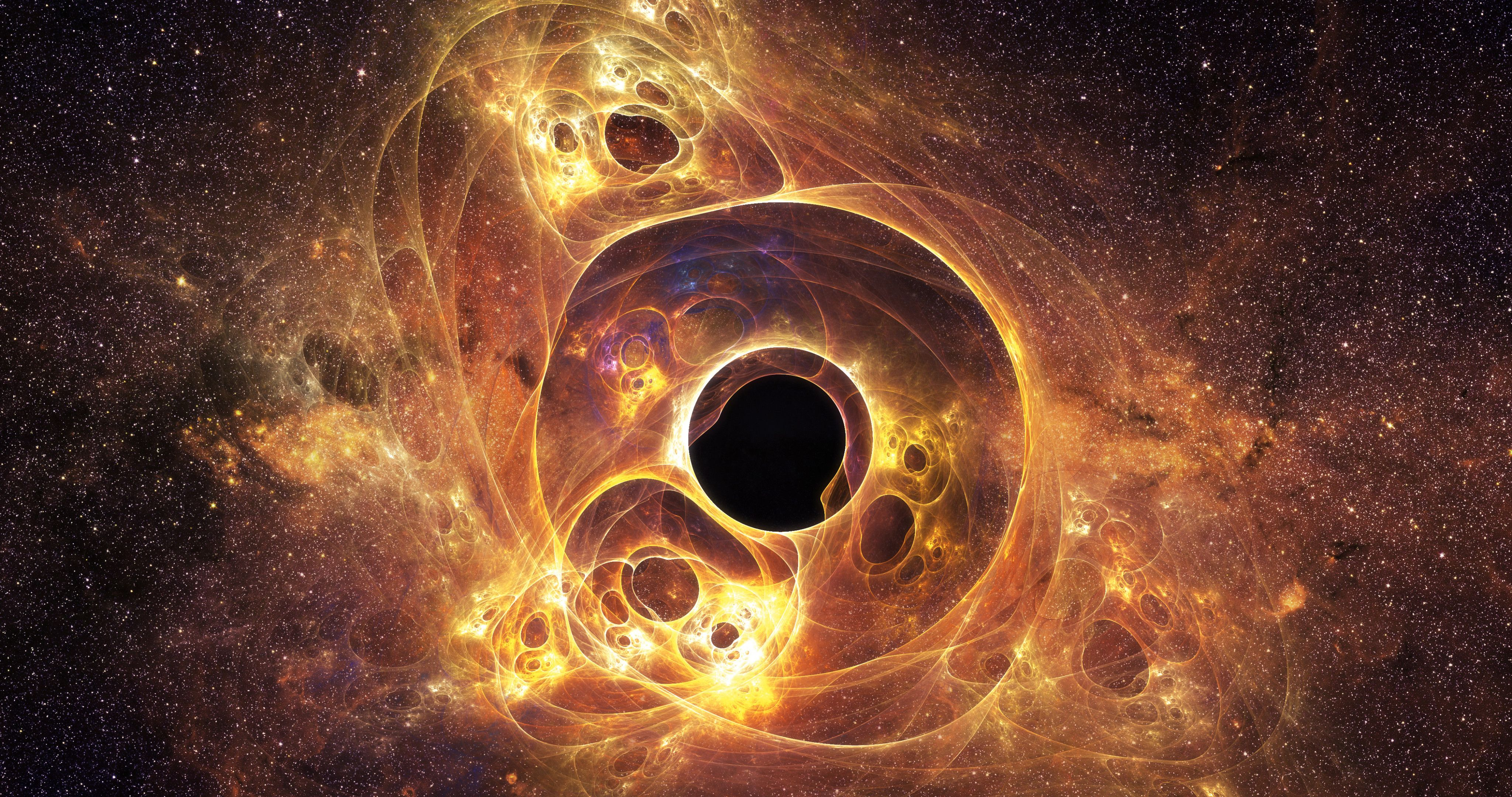 4k Black Hole Wallpapers Top Free 4k Black Hole