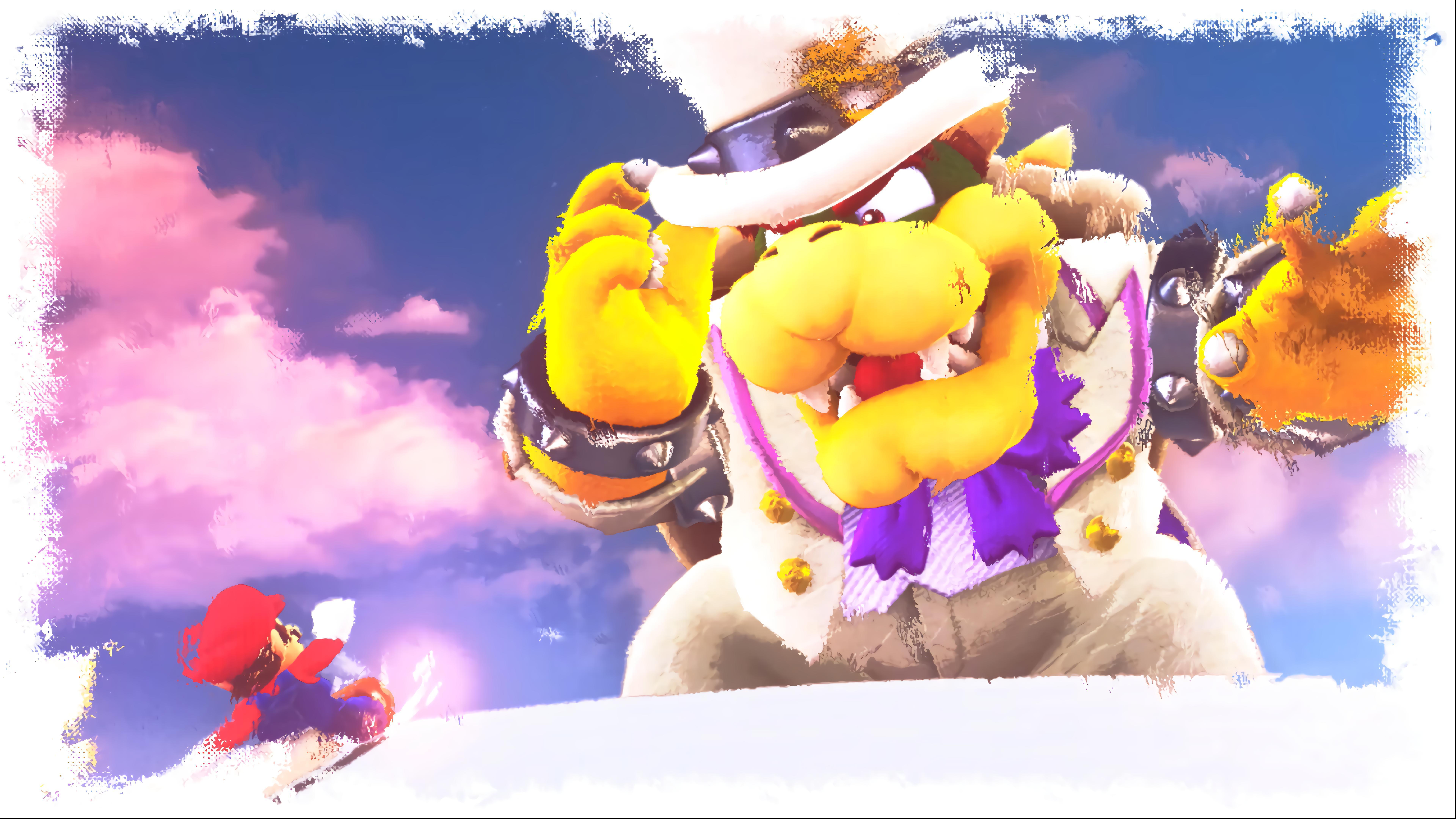 4k Mario Wallpapers Top Free 4k Mario Backgrounds Wallpaperaccess