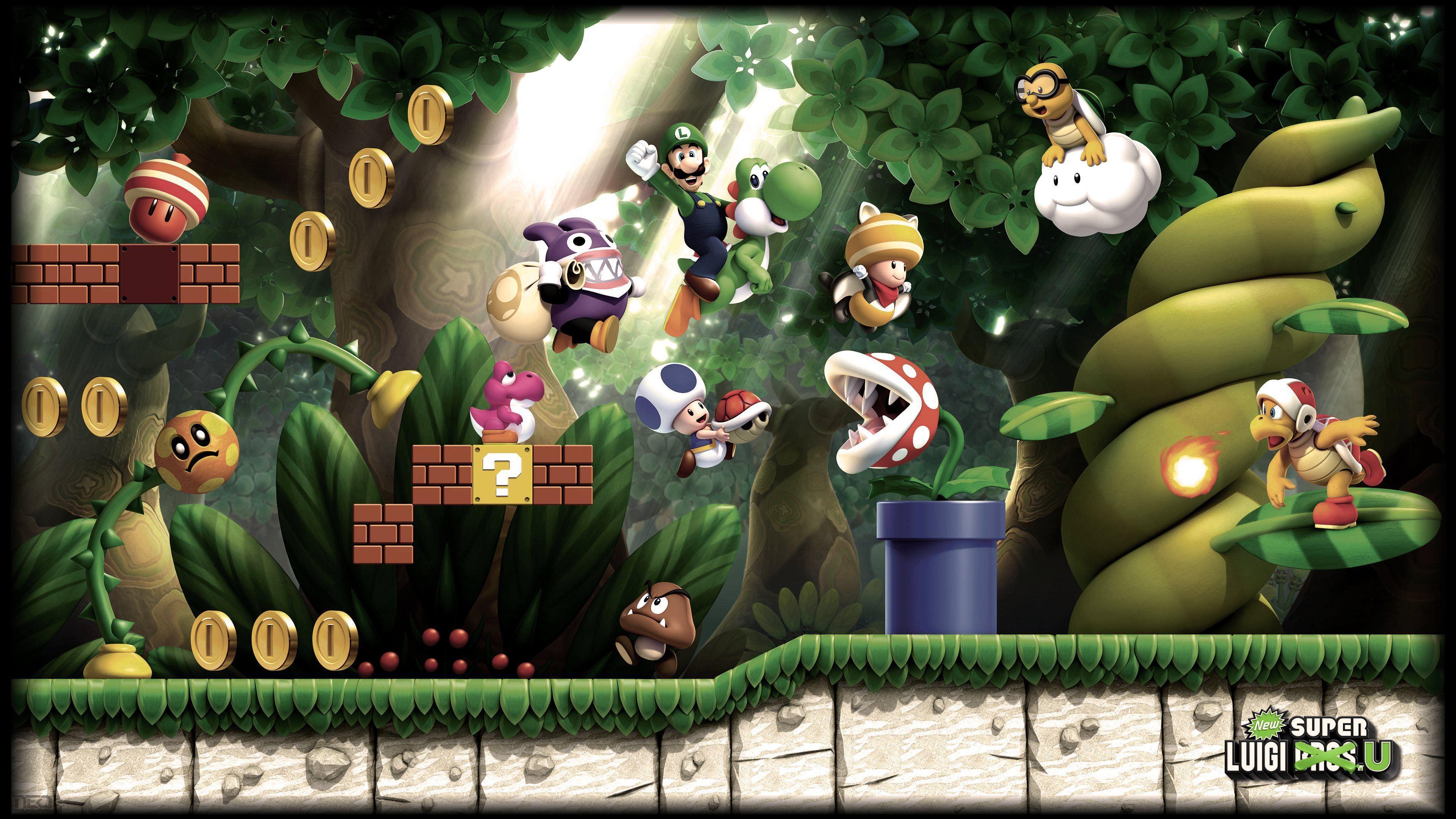 4k Mario Wallpapers Top Free 4k Mario Backgrounds