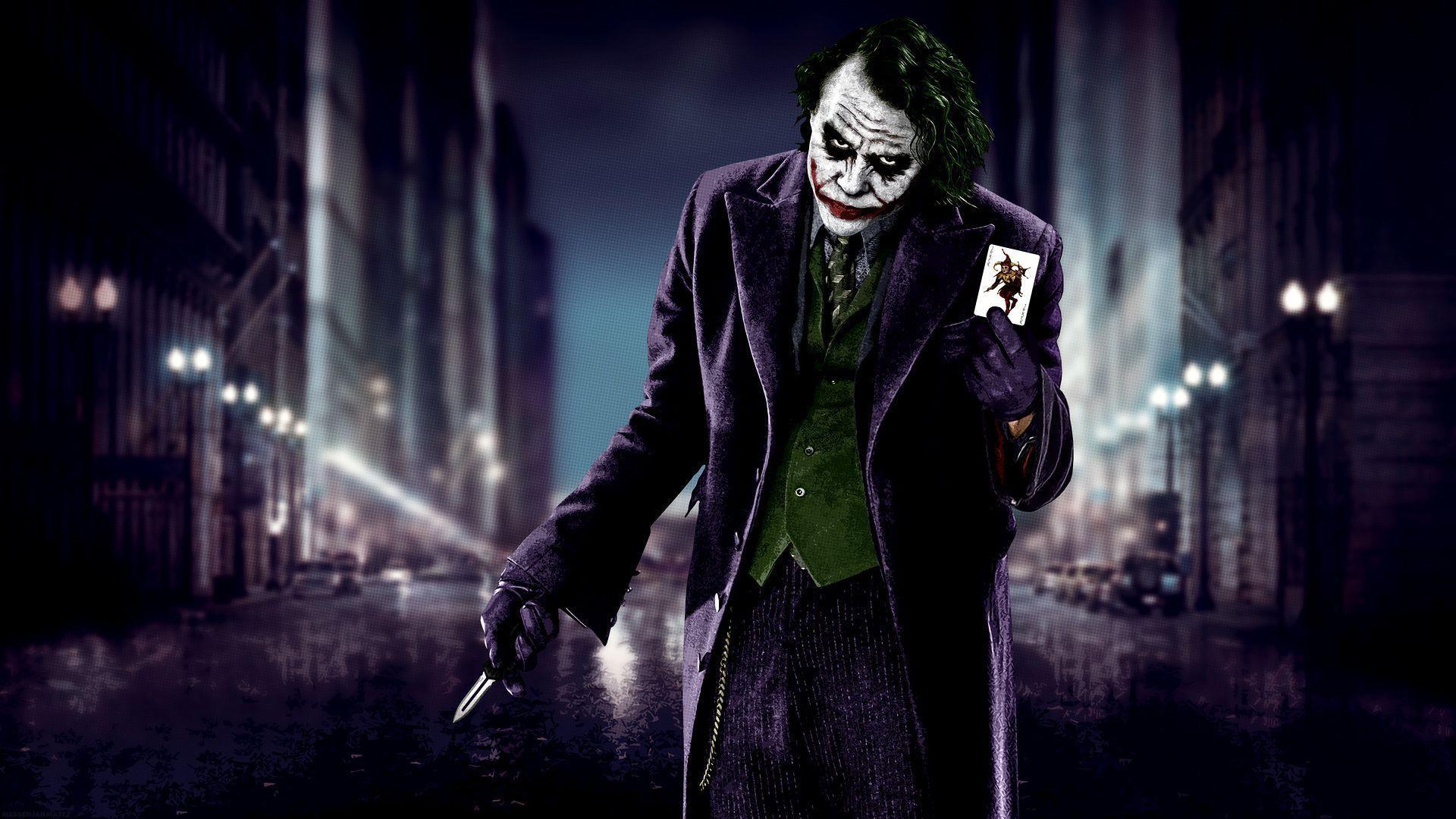 Joker Heath Ledger Wallpapers - Top Free Joker Heath Ledger Backgrounds - WallpaperAccess