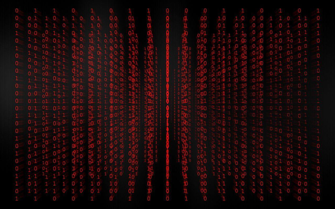 Red Binary Code Wallpapers Top Free Red Binary Code Backgrounds Wallpaperaccess