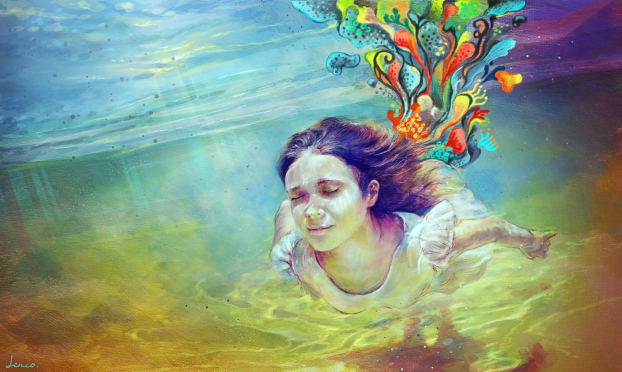 Trippy Woman Wallpapers Top Free Trippy Woman Backgrounds