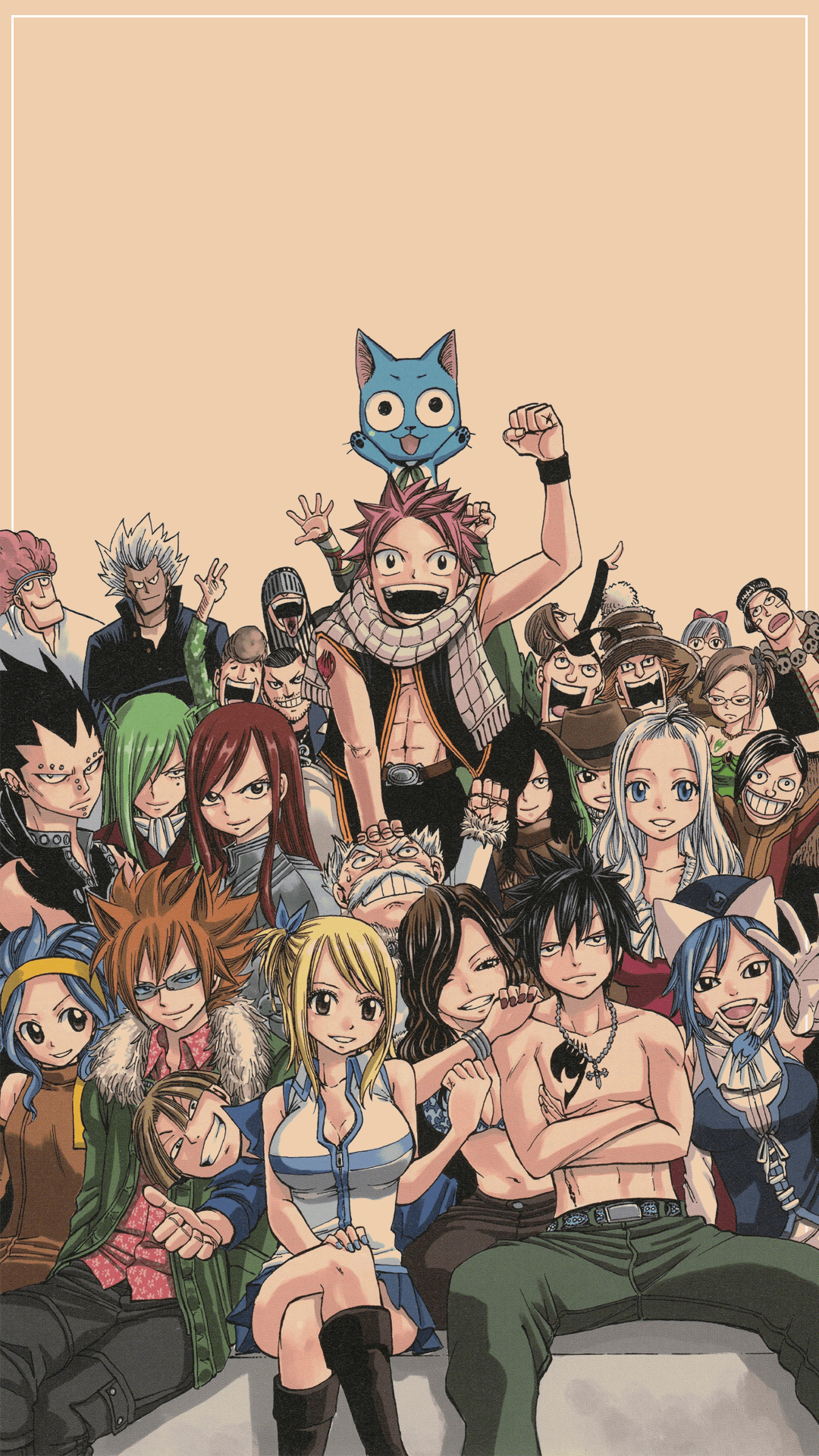 Fairy Tail Phone Wallpapers Top Free Fairy Tail Phone