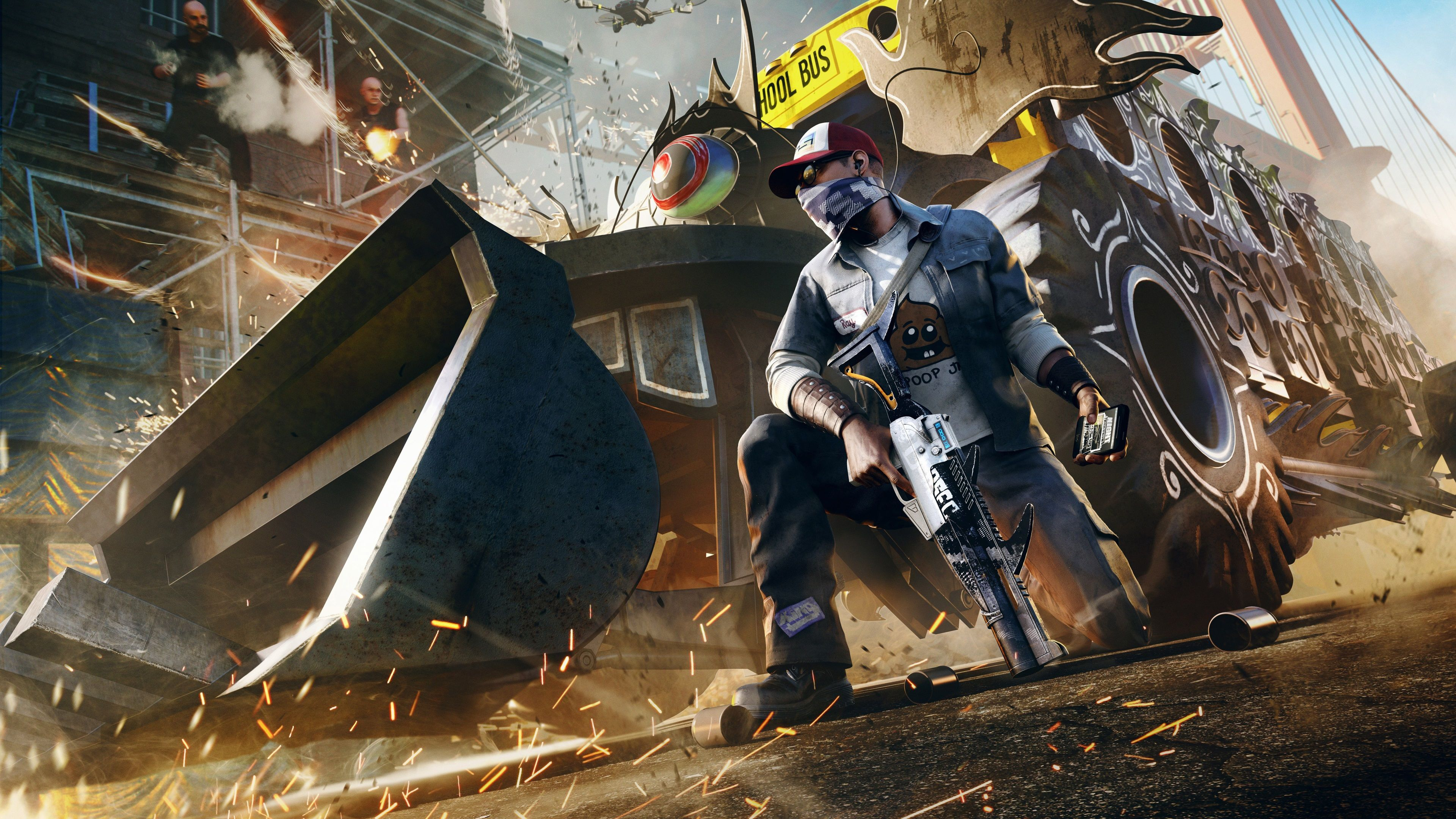 Watch Dogs 2 4k Wallpapers Top Free Watch Dogs 2 4k Backgrounds
